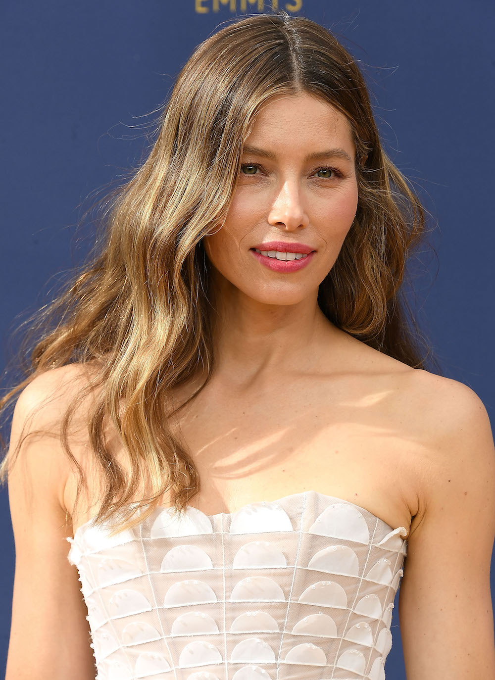 Jessica Biel's Beauty Prep for Emmy Awards Included These Under-Eye Patches