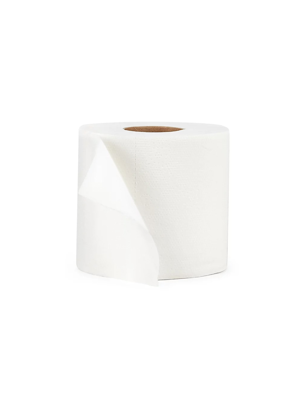 Roll of bamboo toilet paper