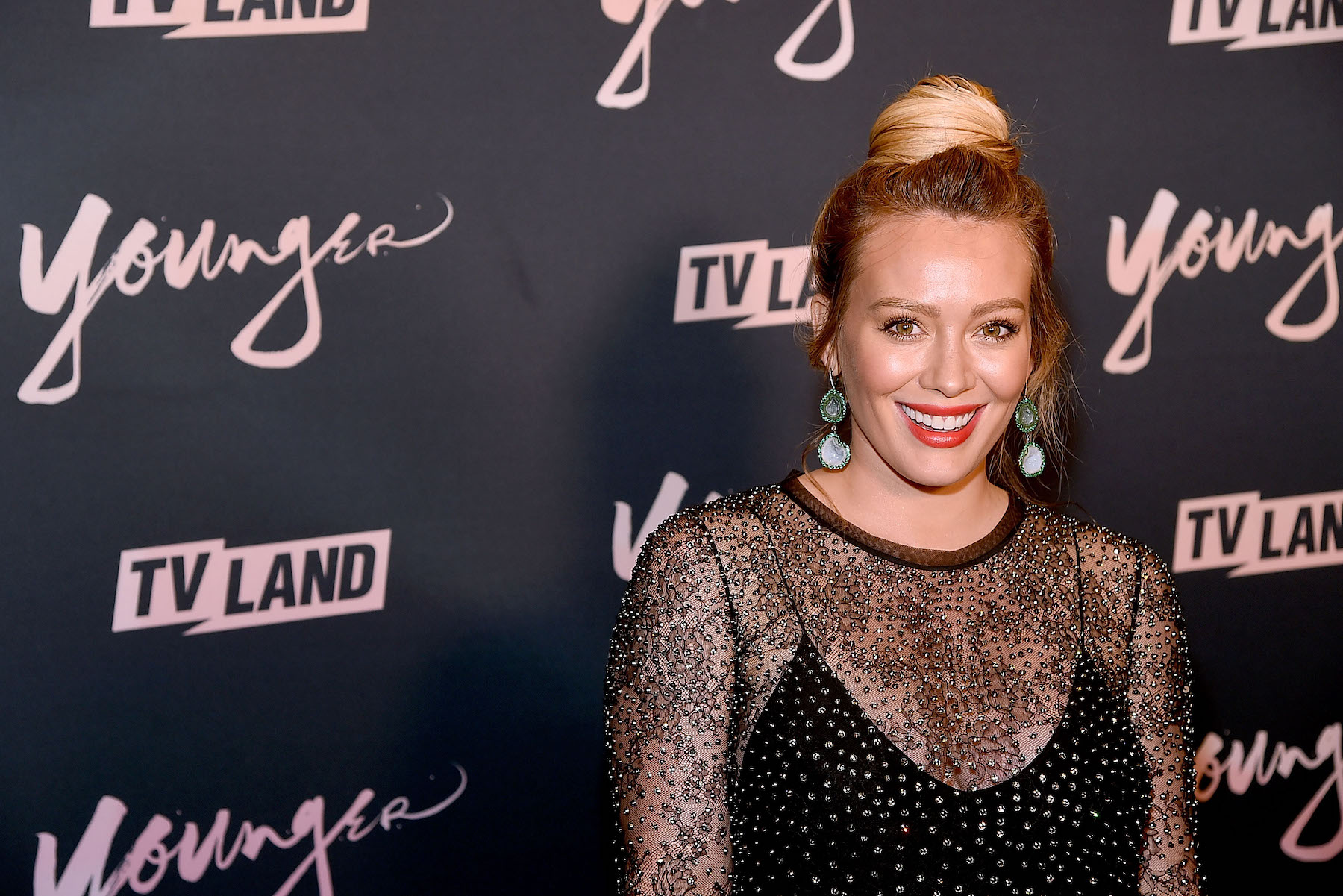 Hilary Duff at event for Younger