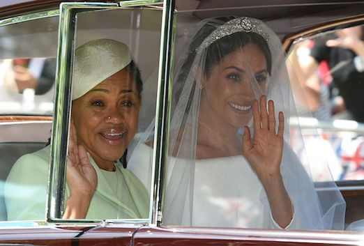 Meghan Markle With Her Mom, Doria Ragland, at Her Wedding to Prince Harry