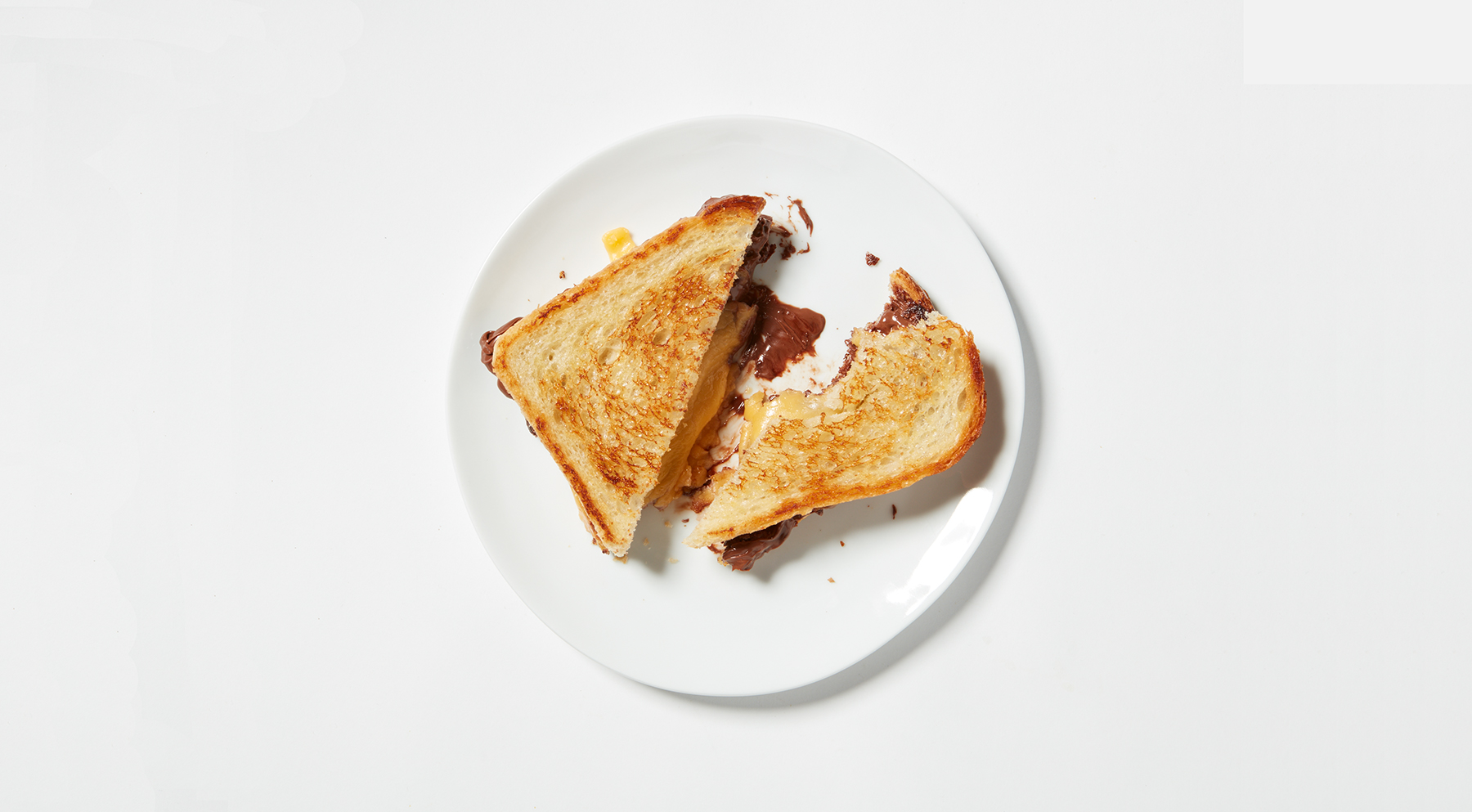 Best grilled cheese with nutella
