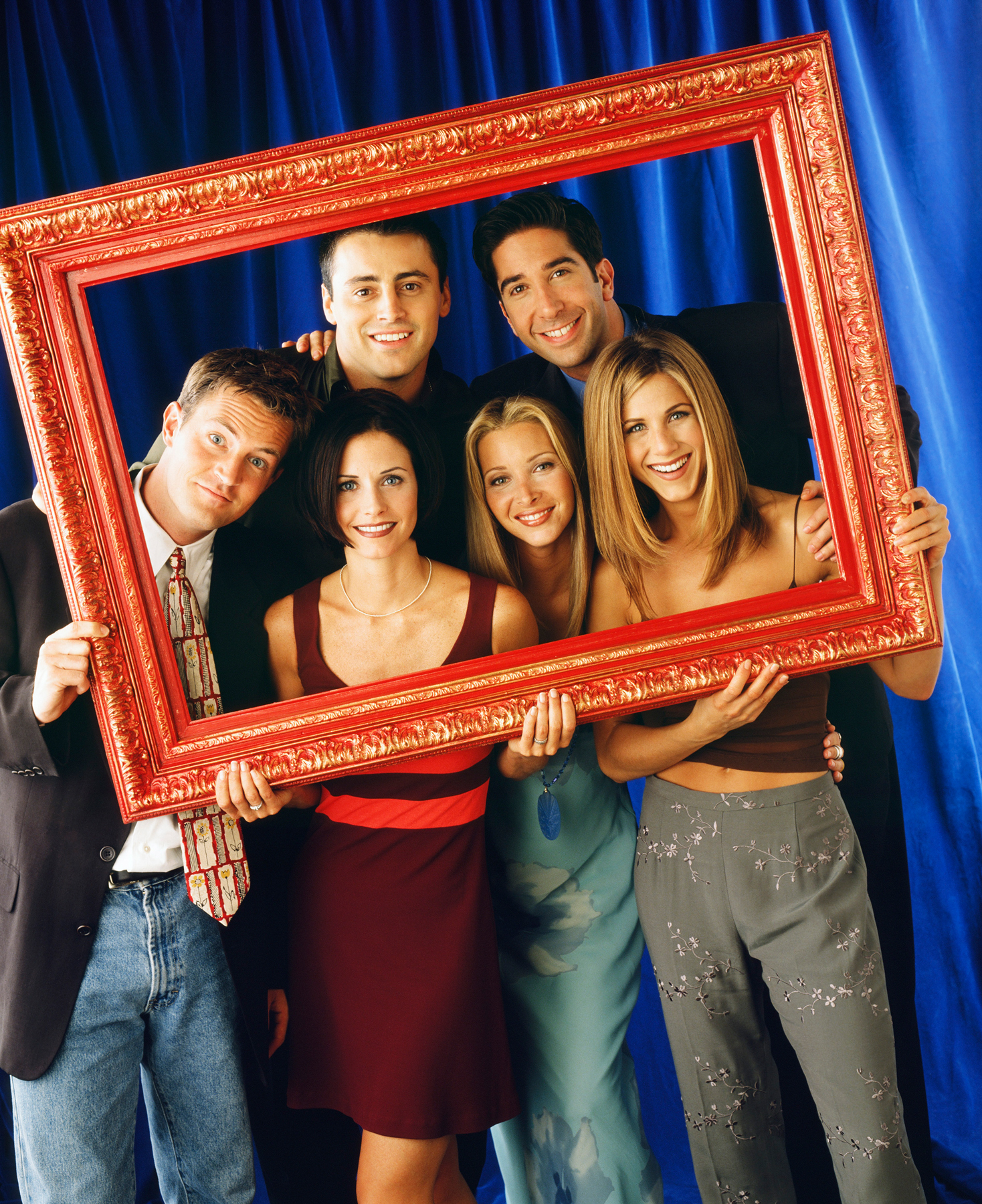 The One with the Lottery Friends Episode - Phoebe, Ross, Rachel, Joey, Chandler, and Monica