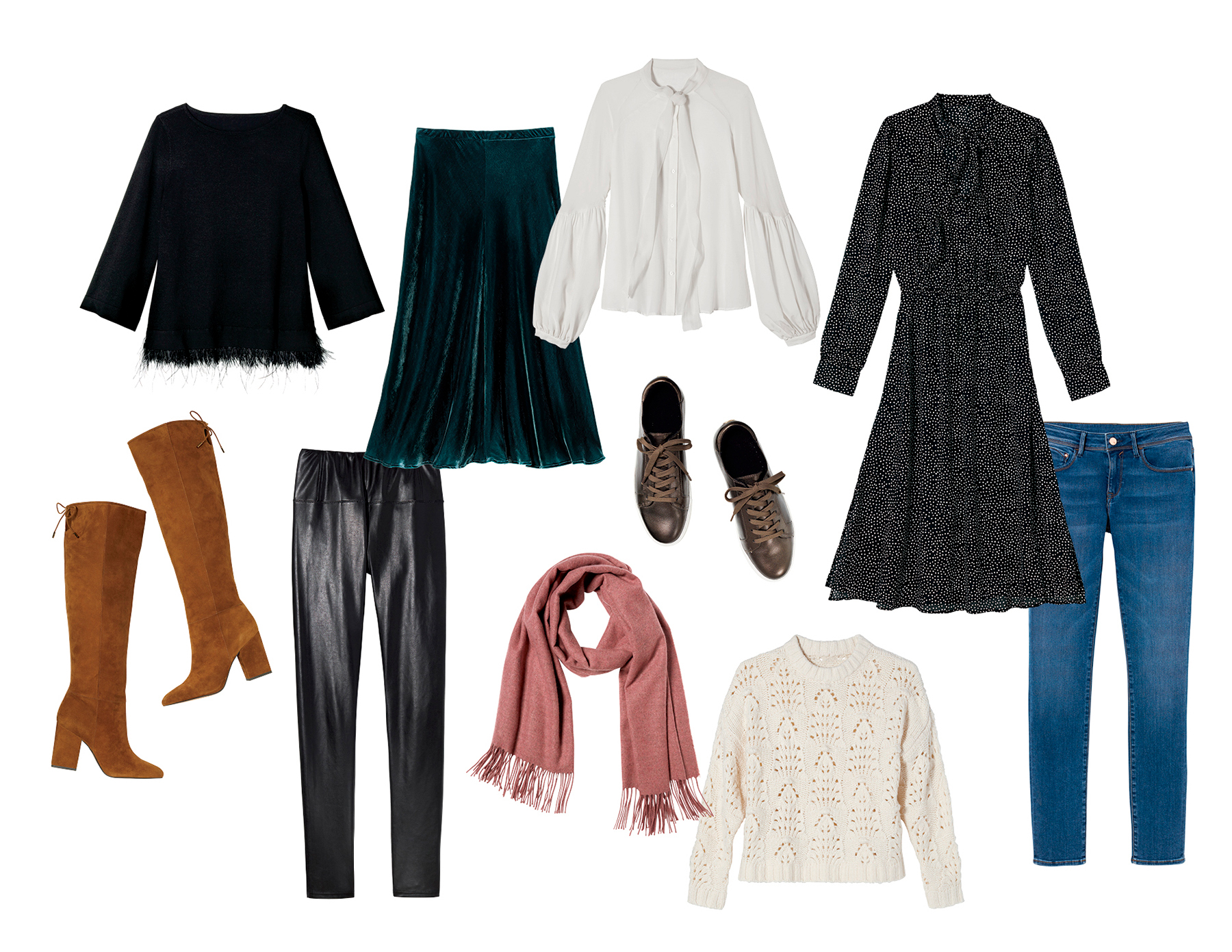 8b1686c82b98d Here's An Entire Holiday Wardrobe—and It All Fits in a Carry-On ...