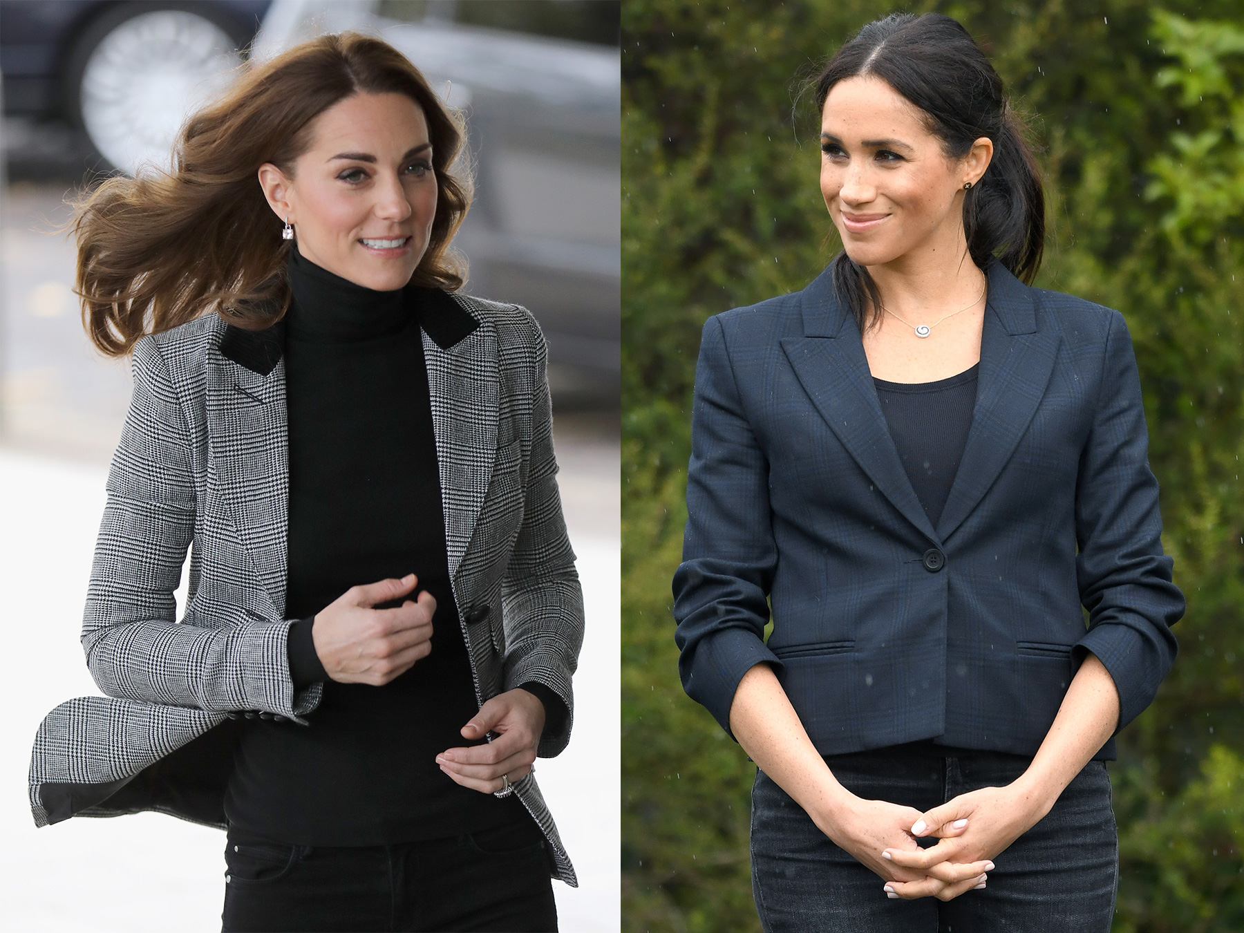 3e63d90b9 How to Copy Meghan Markle and Kate Middleton's Blazer Looks | Real ...
