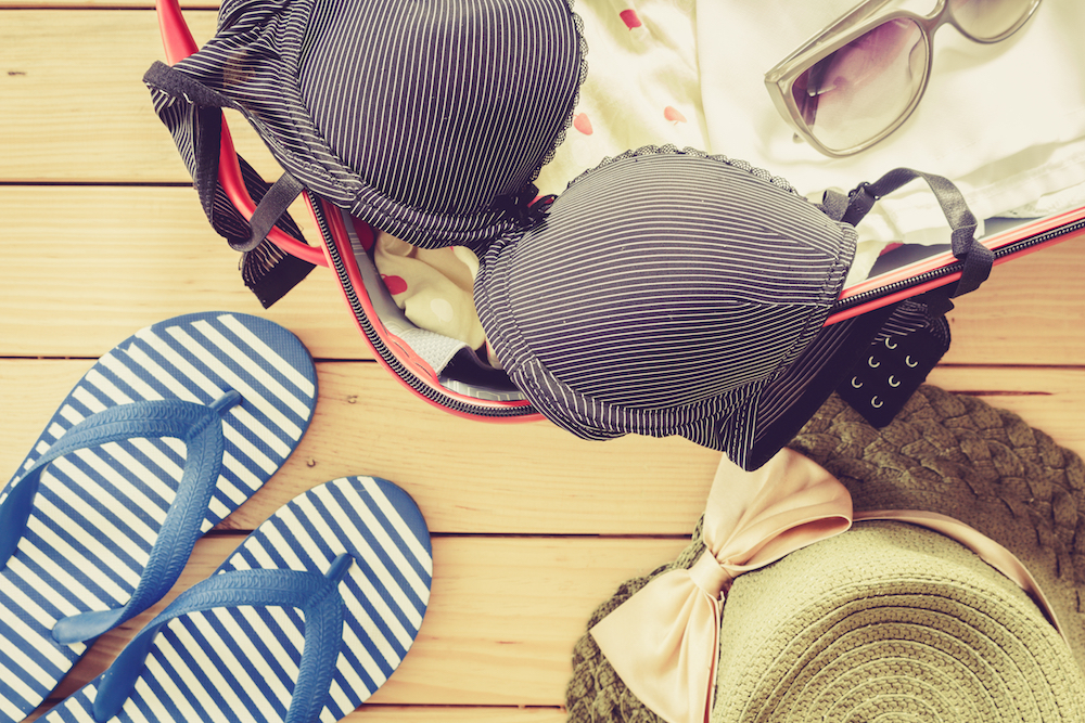 Here's How to Pack Your Bras the Right Way