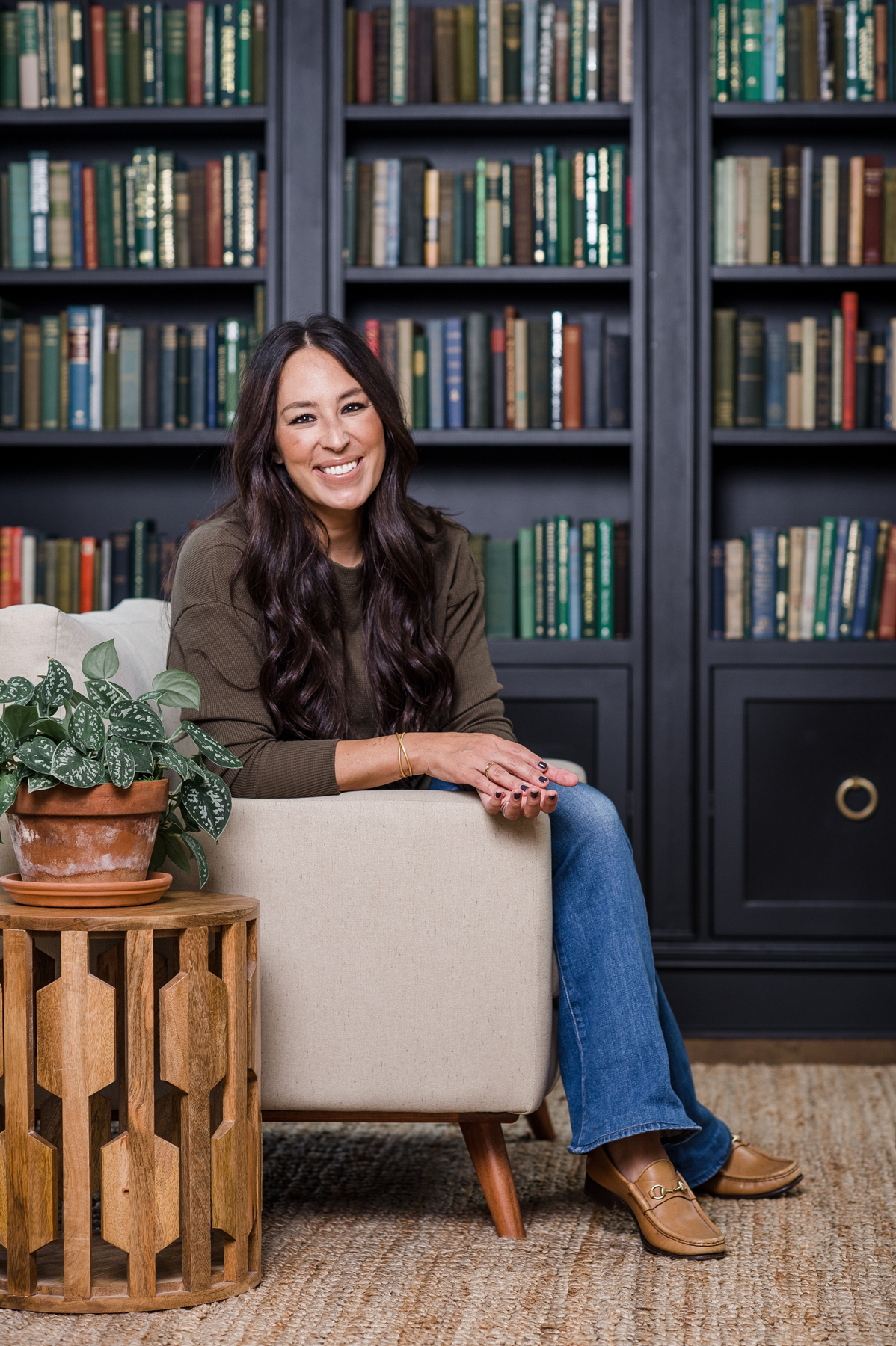 what being a homebody means to joanna gaines real simple. Black Bedroom Furniture Sets. Home Design Ideas