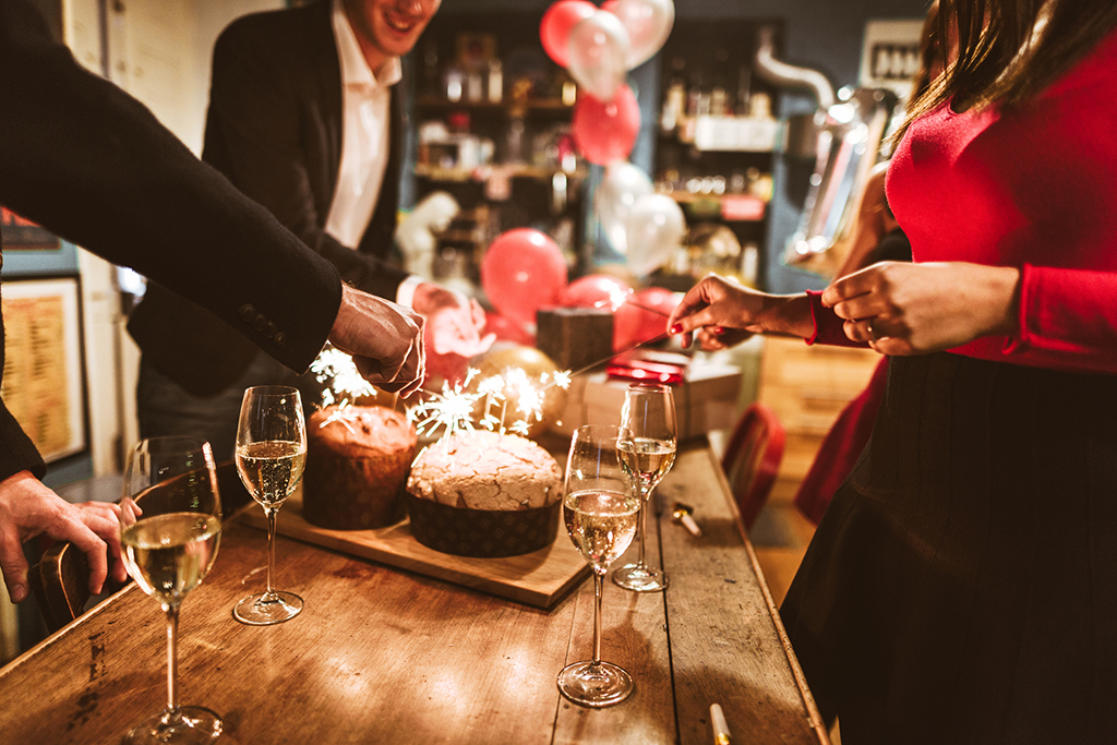 Holiday parties are fun, but women stress about this part of attending holiday parties.