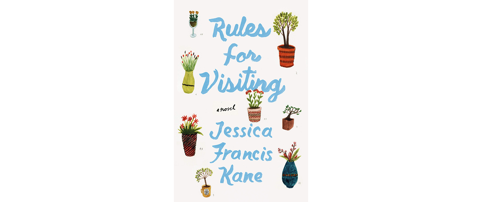 Cover of Rules for Visiting, by Jessica Francis Kane