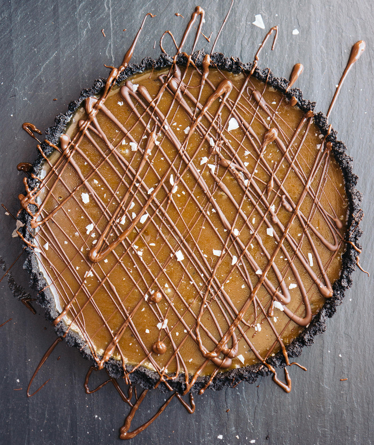 gooey-chocolate-caramel-tart
