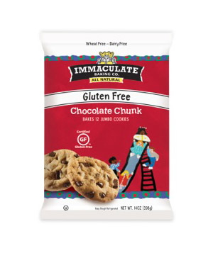Immaculate Baking Gluten-Free Chocolate Chunk Cookie Dough