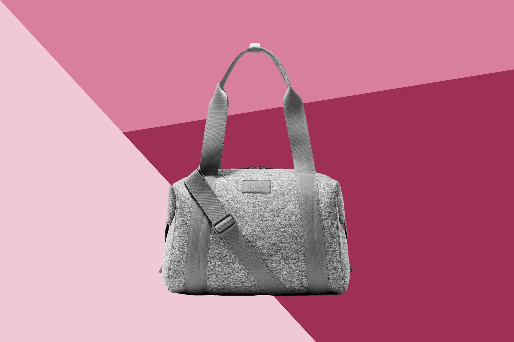 gray dagne dover gym bag