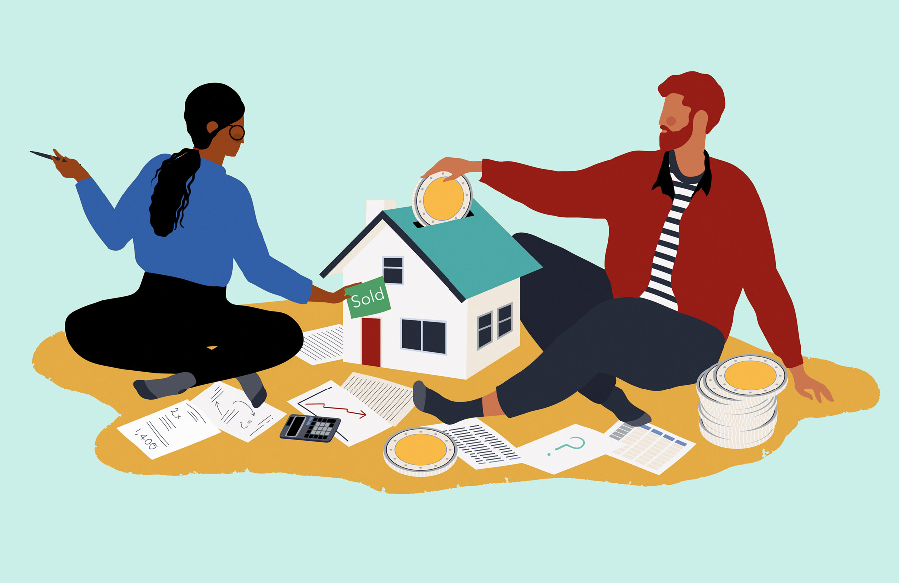 Down Payment On A House >> How Most People Pay For A Down Payment On A House Real Simple