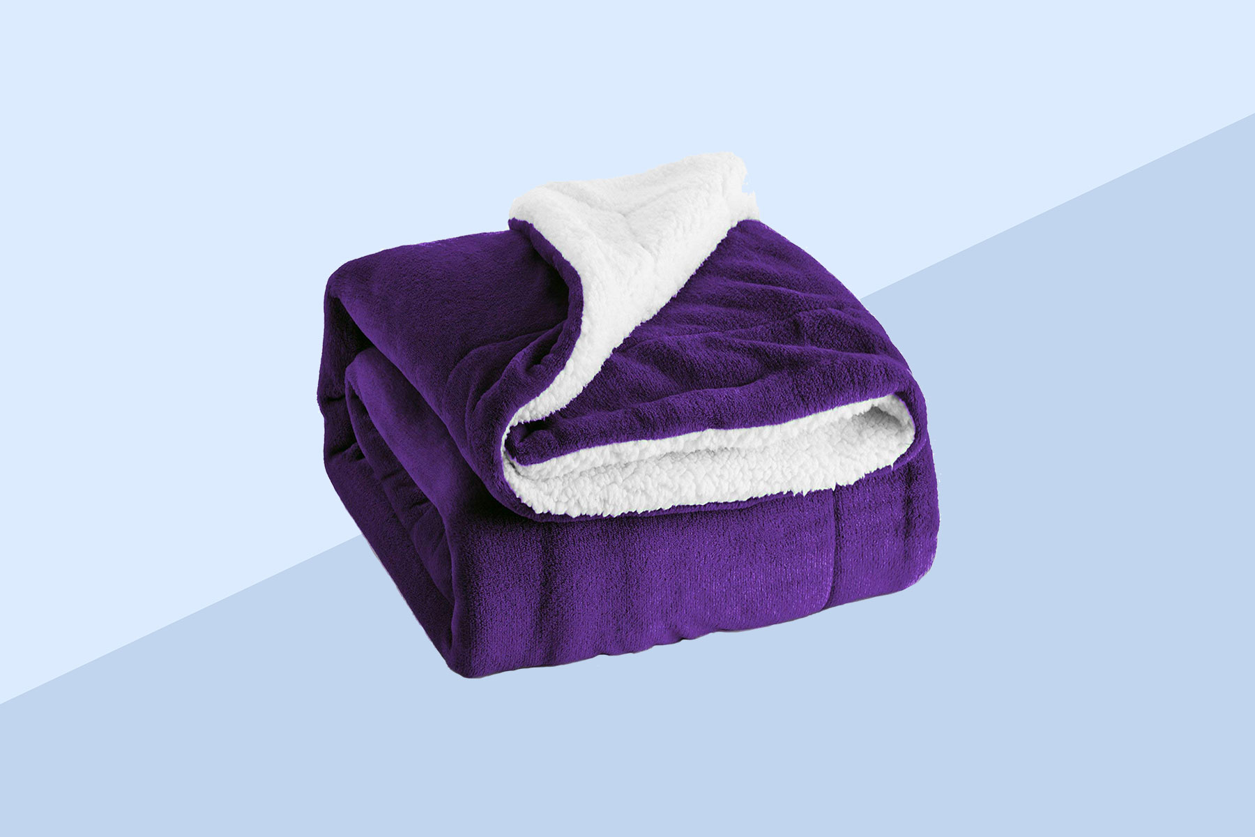 Bedsure Sherpa Fleece Throw Blanket