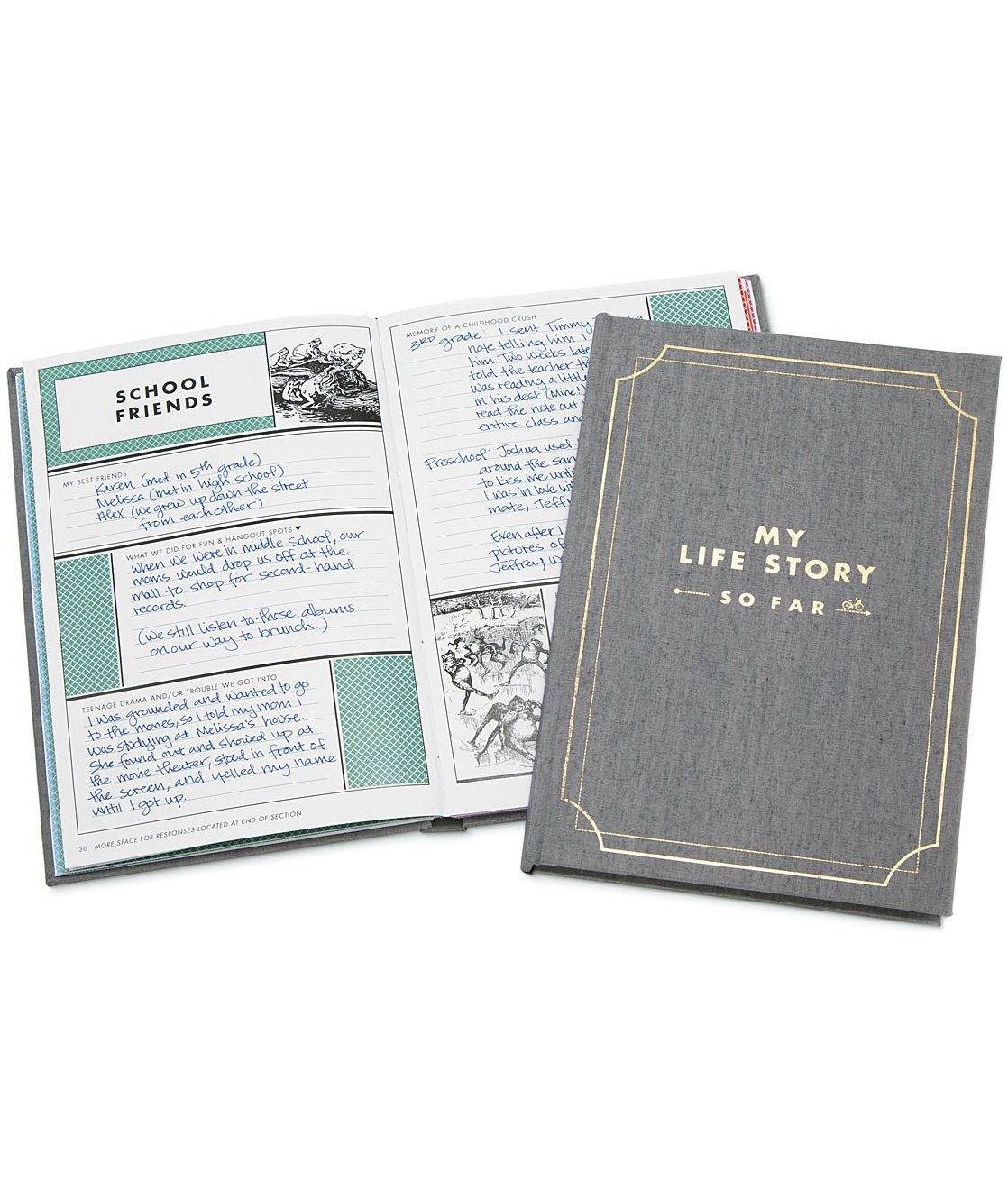 Valentines Gifts for Her: My Life Story–So Far From Uncommon Goods