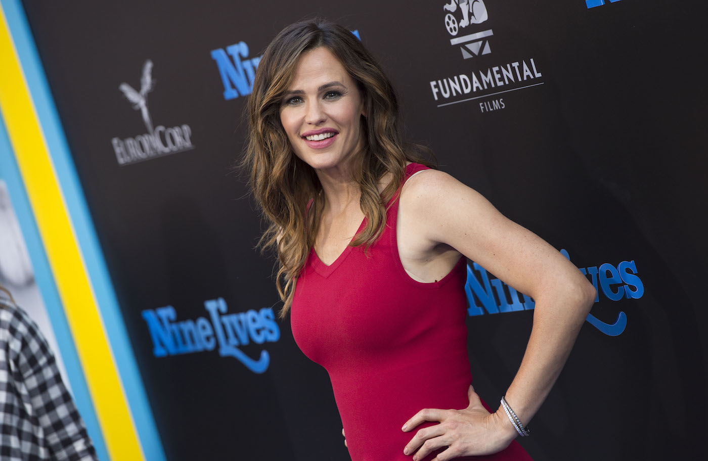 Jennifer Garner in red gown