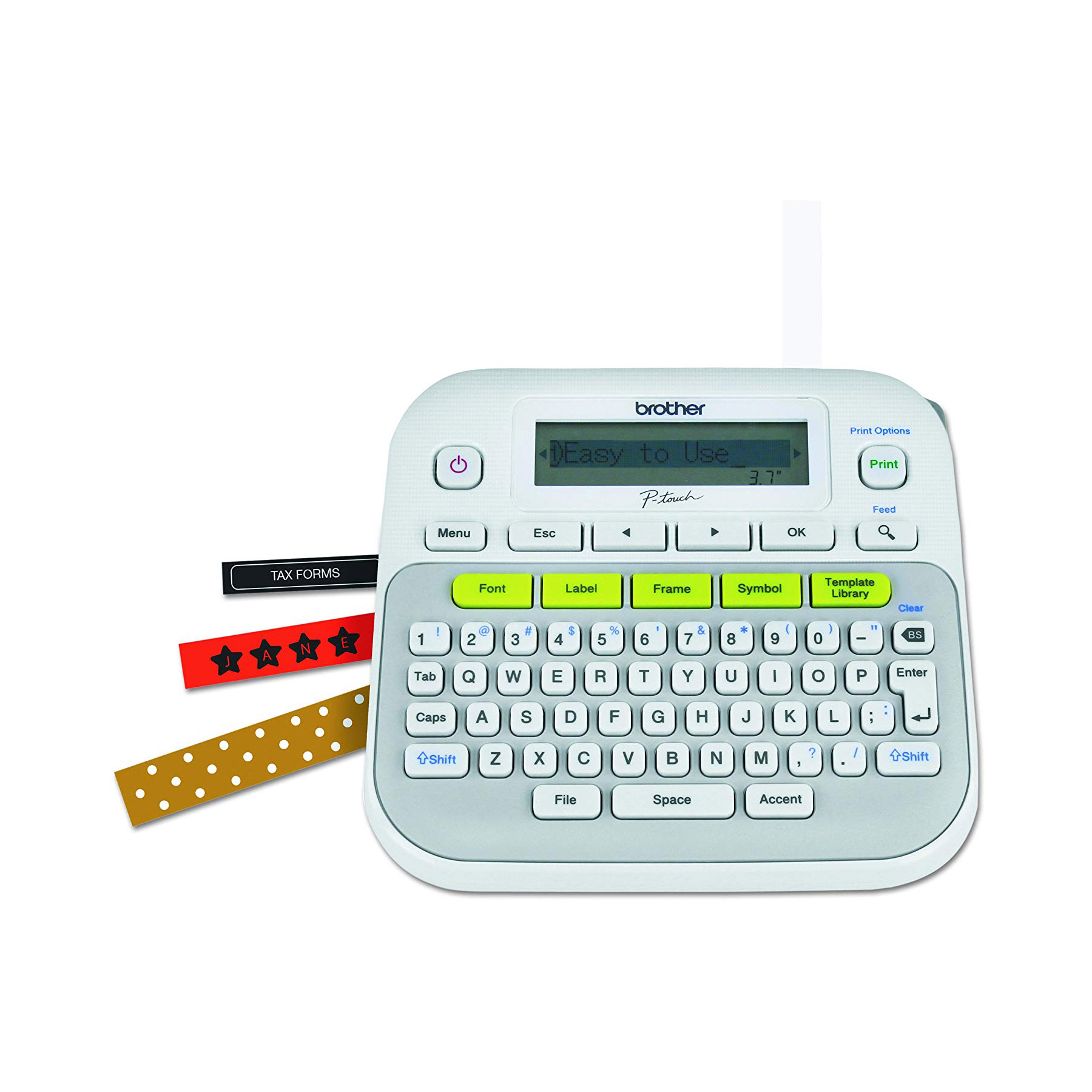 Brother P-Touch PTD210 Easy-to-Use Label Maker