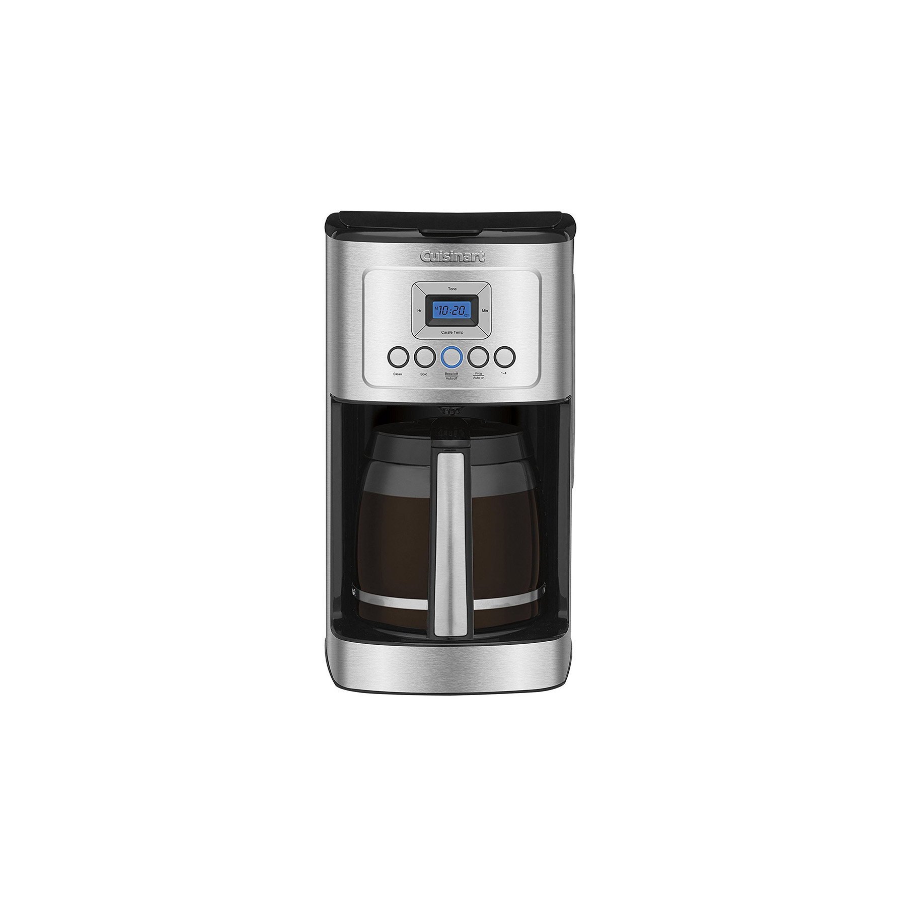Cuisinart DCC-3200 14-Cup Glass Carafe with Stainless Steel Handle Programmable Coffeemaker