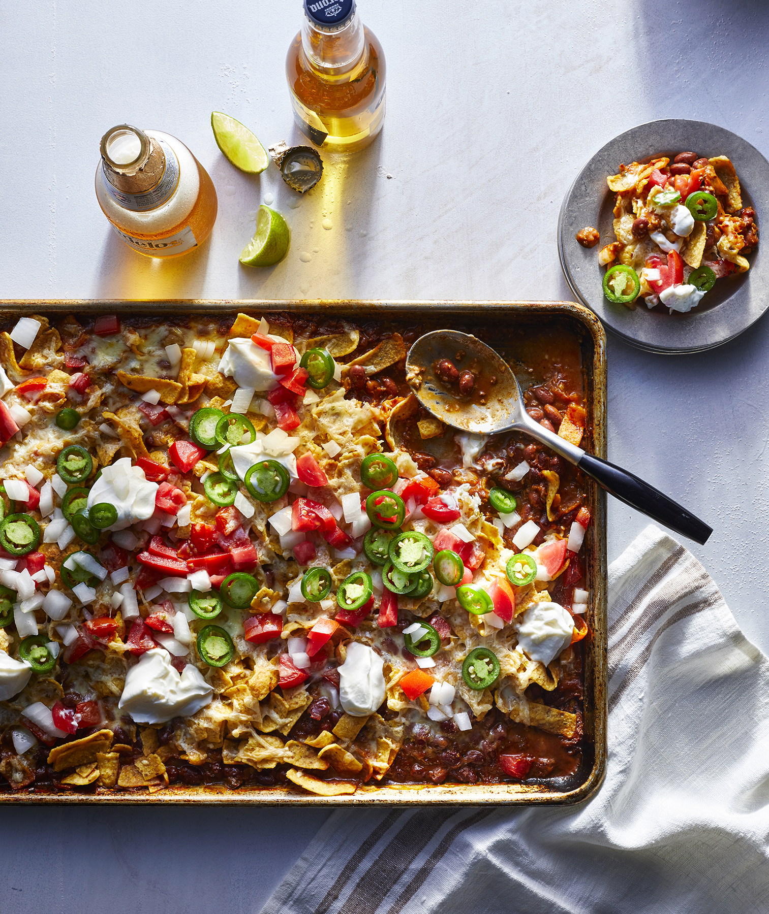 Sheet Pan Frito Pie