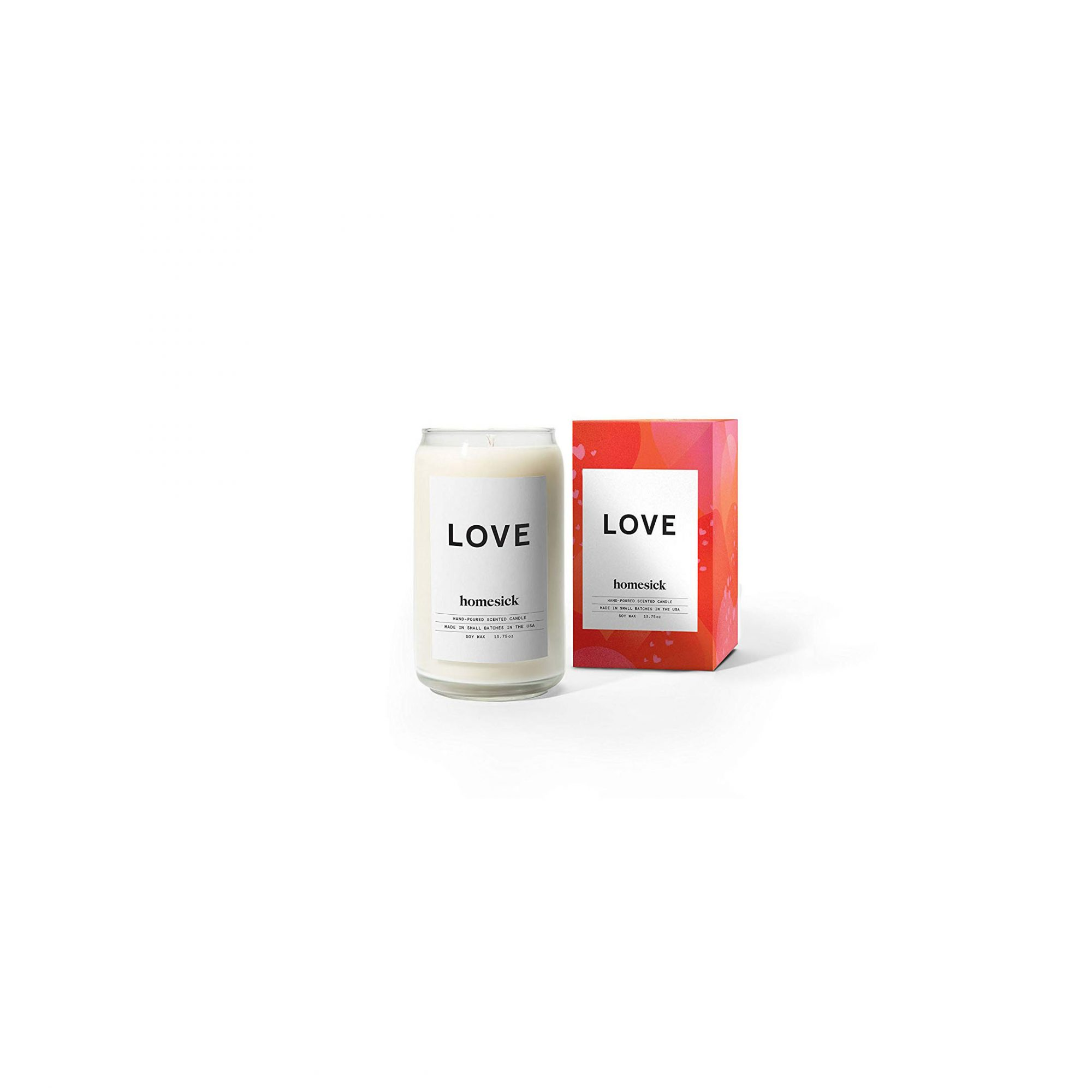 Homesick Scented Candle, Love
