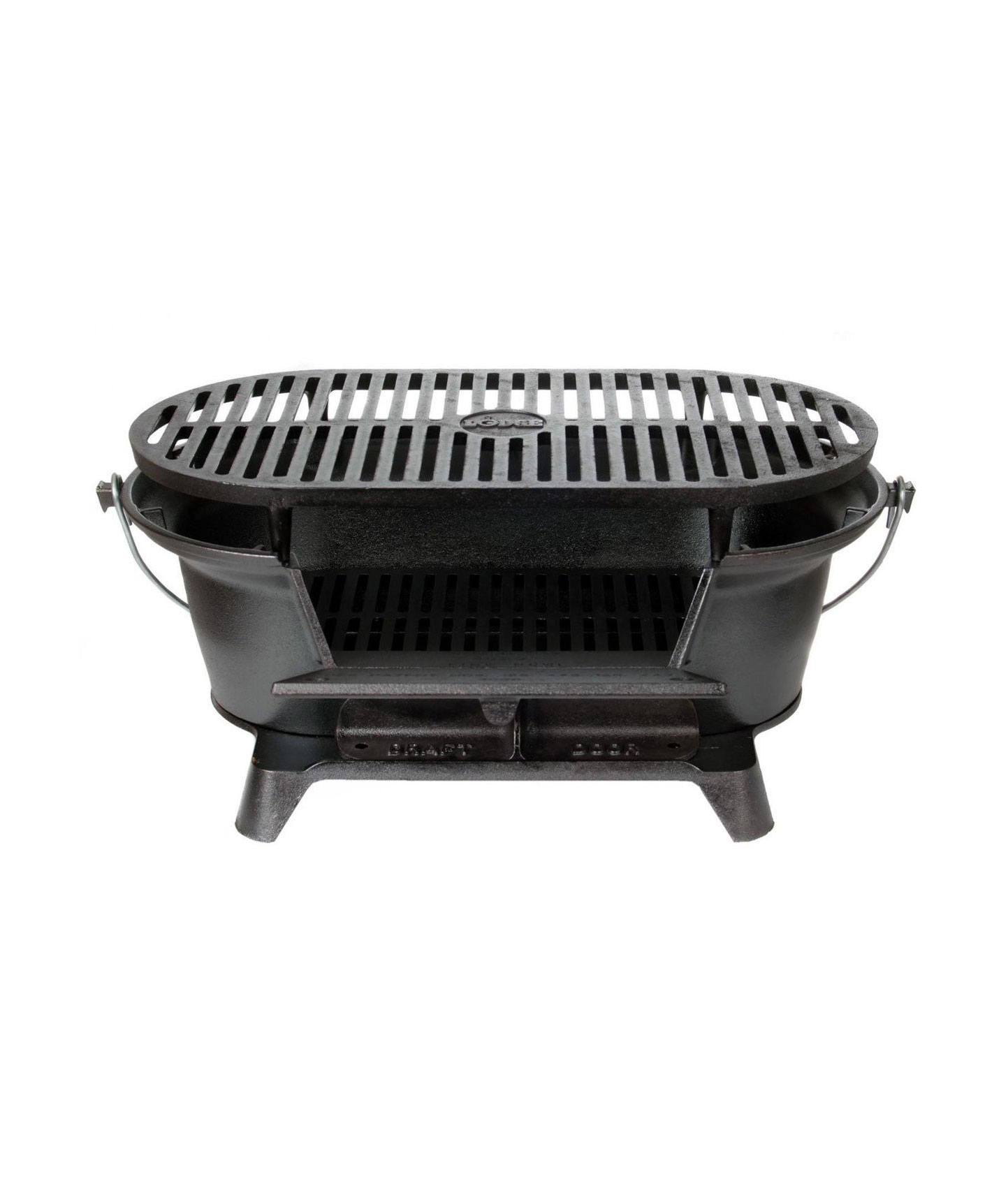 Lodge L410 Pre-Seasoned Sportsman's Charcoal Grill