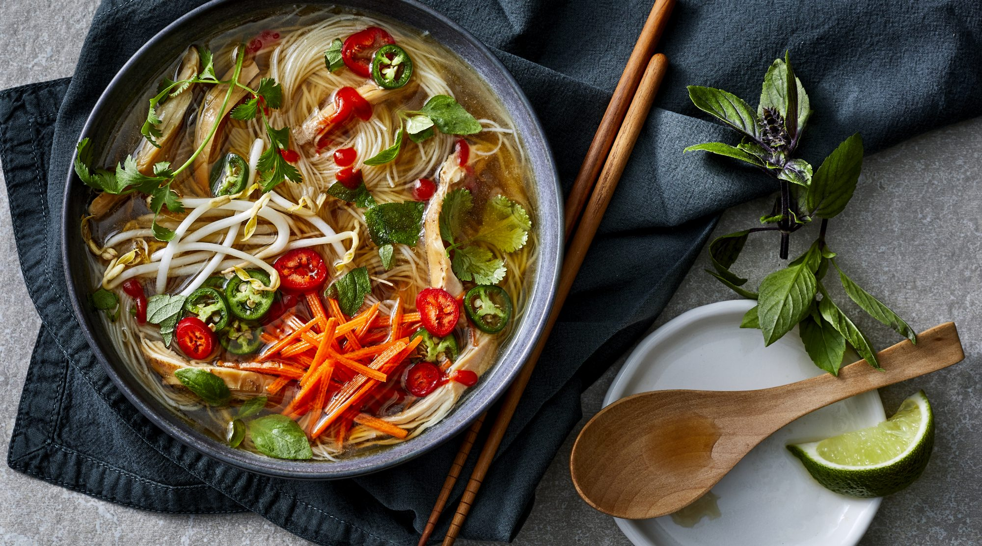Chicken Pho -- How to Make Pho in an Instant Pot