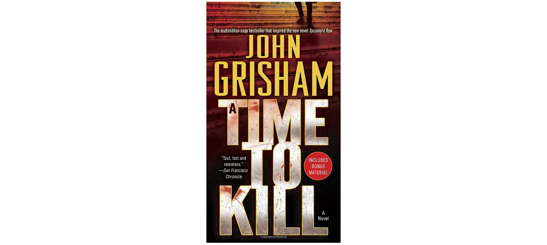Cover of Time to Kill, by John Grisham