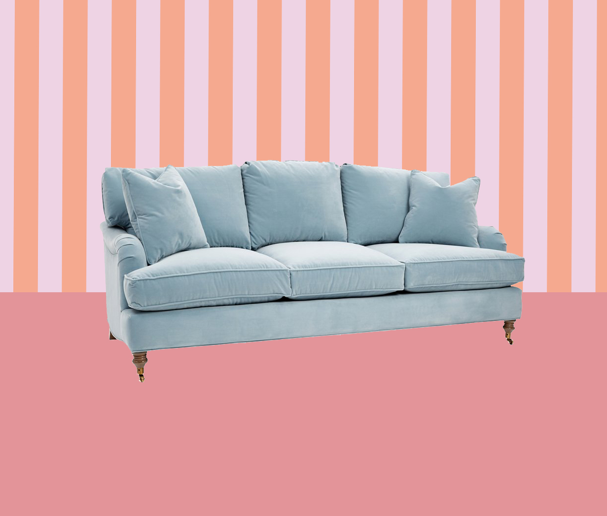 Stain Resistant and Easy-to-Clean Sofa