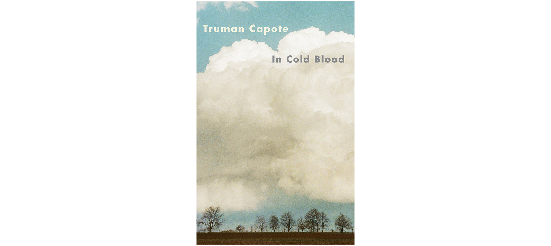 Cover of In Cold Blood, by Truman Capote