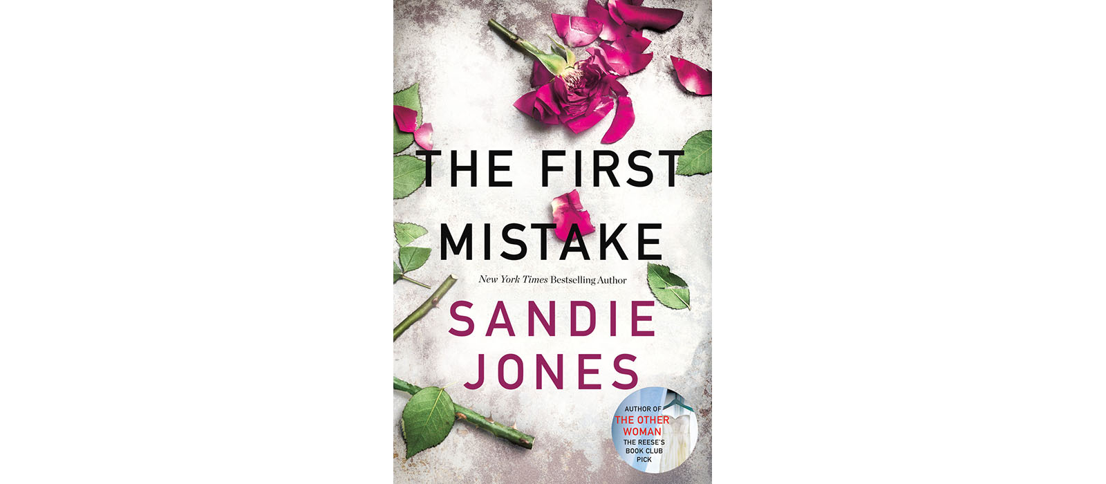 Cover of The First Mistake, by Sandie Jones