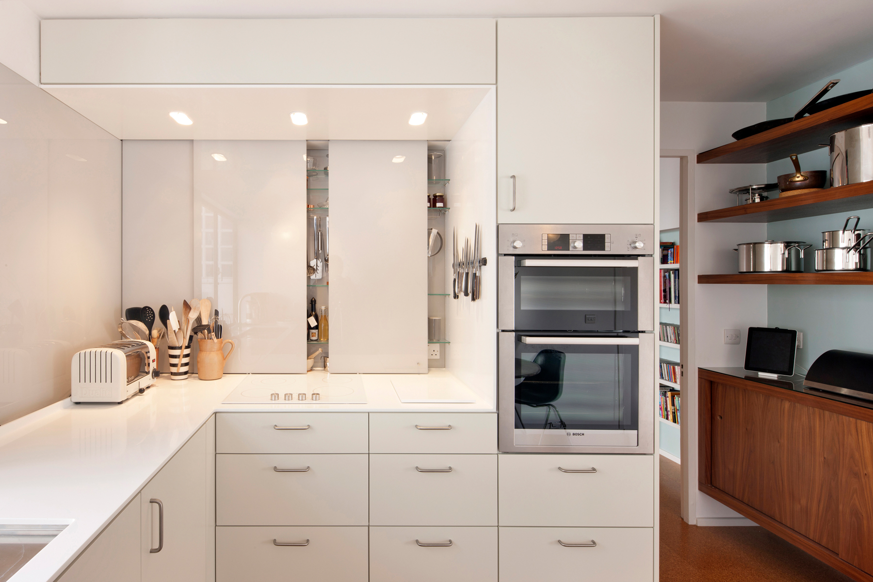 Appliance Garage Cabinets Are Back With a Sophisticated ...