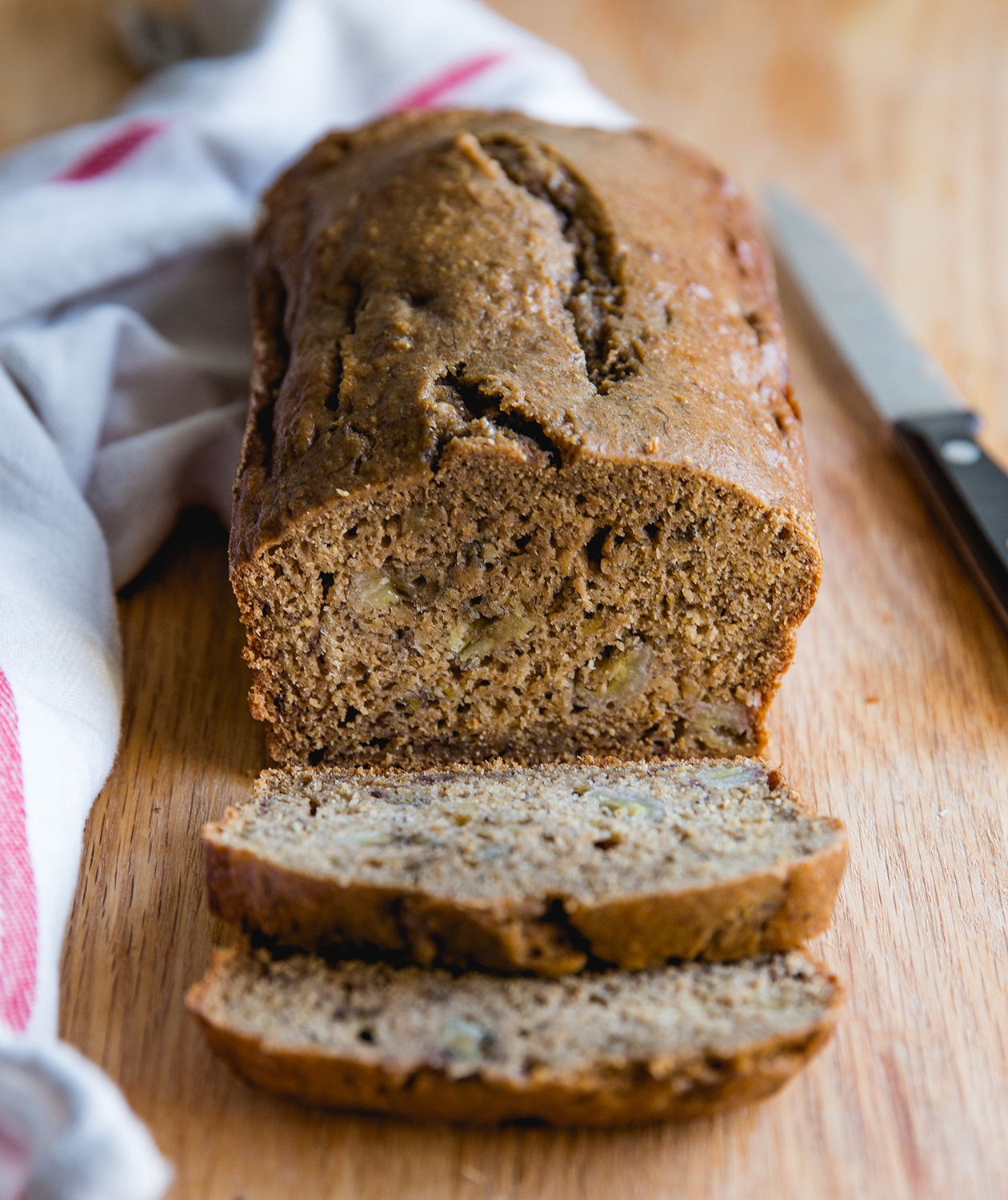 Banana Bread as one of our healthy breakfast ideas