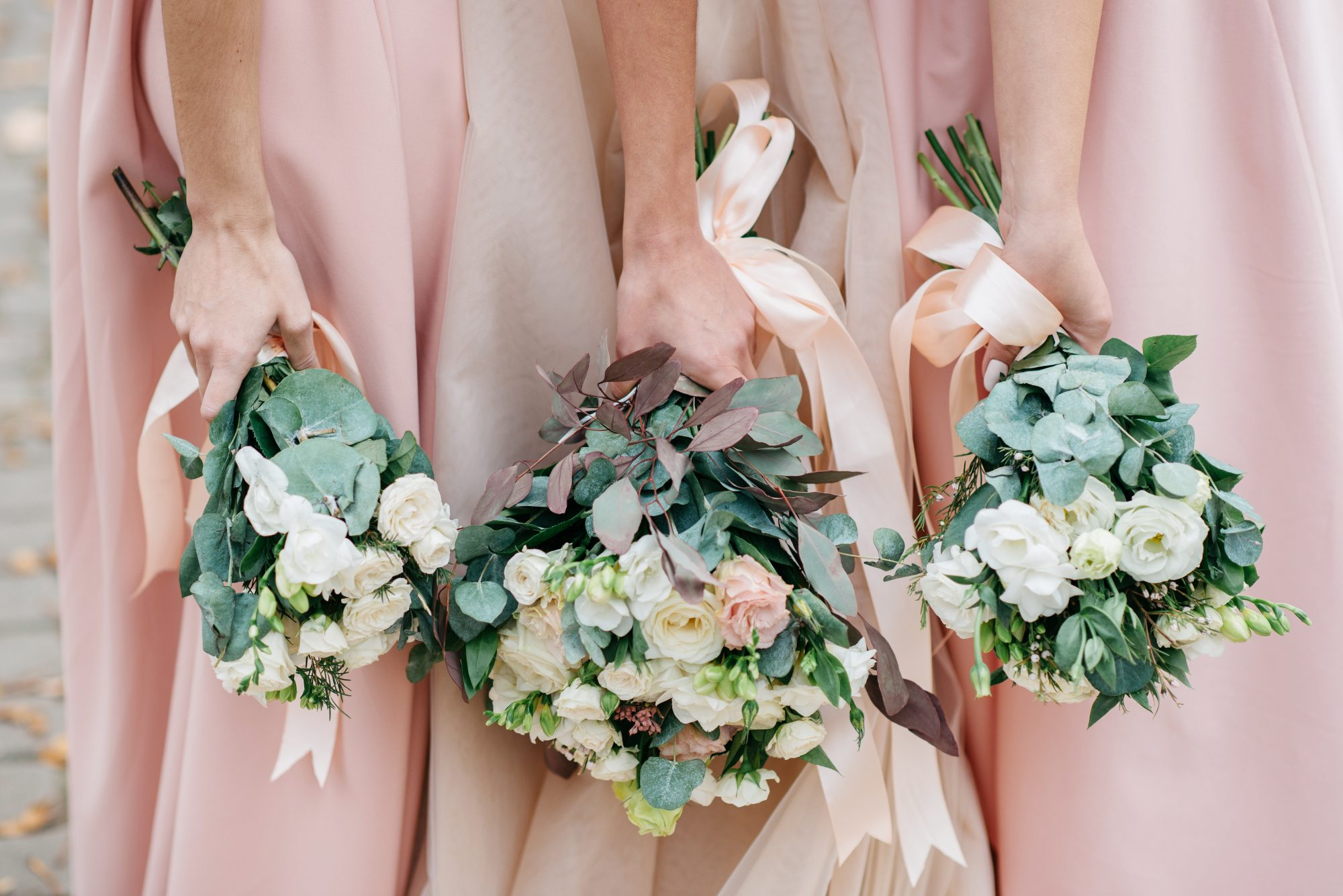 pay-for-wedding bridesmaid bouquet