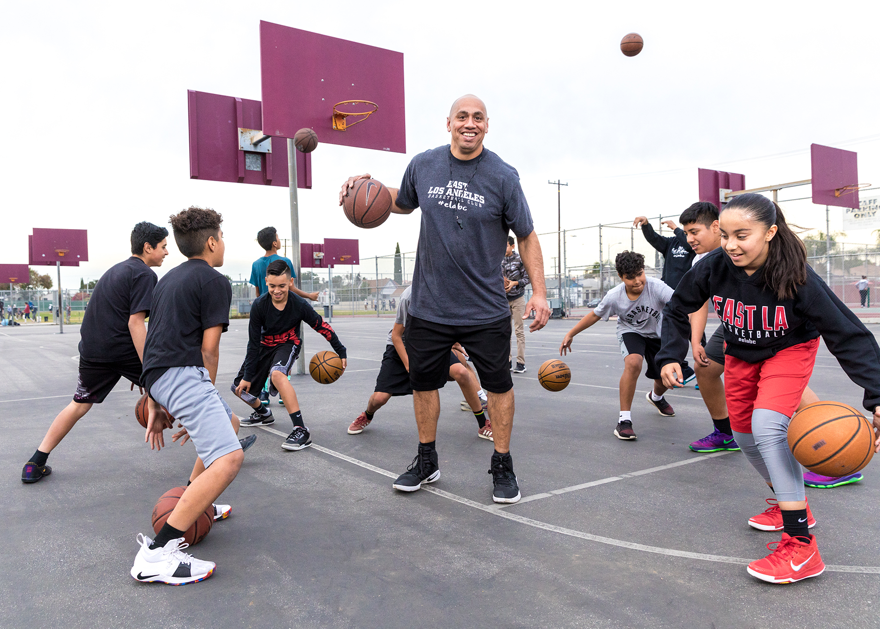How a Local Basketball Club Started for Kids Who Couldn't Afford Other Leagues Became a Real Competitor