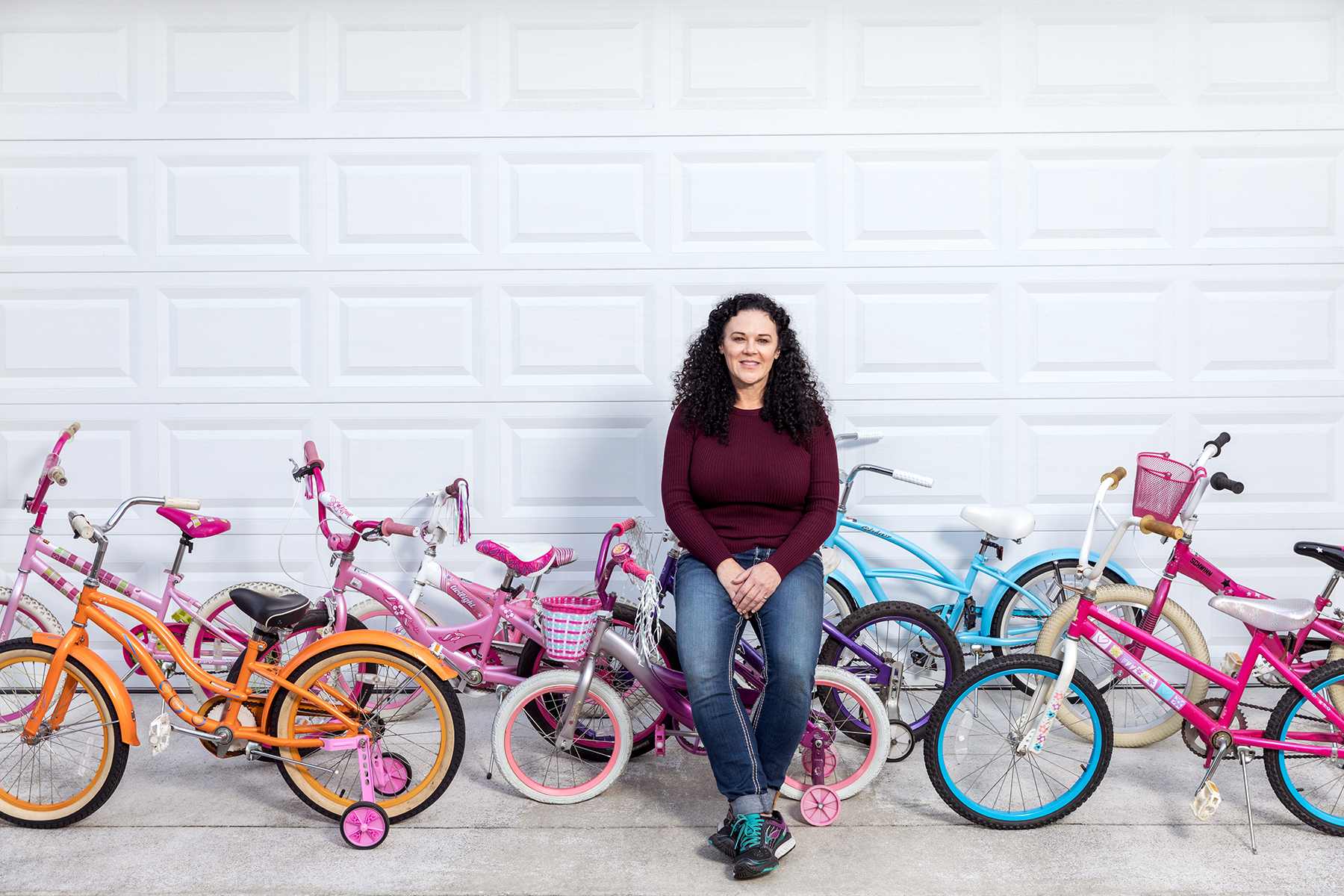 Kathy Downs Requested a Spare Kid's Bike on Social Media—and Ultimately Helped 1,500 Children in Need