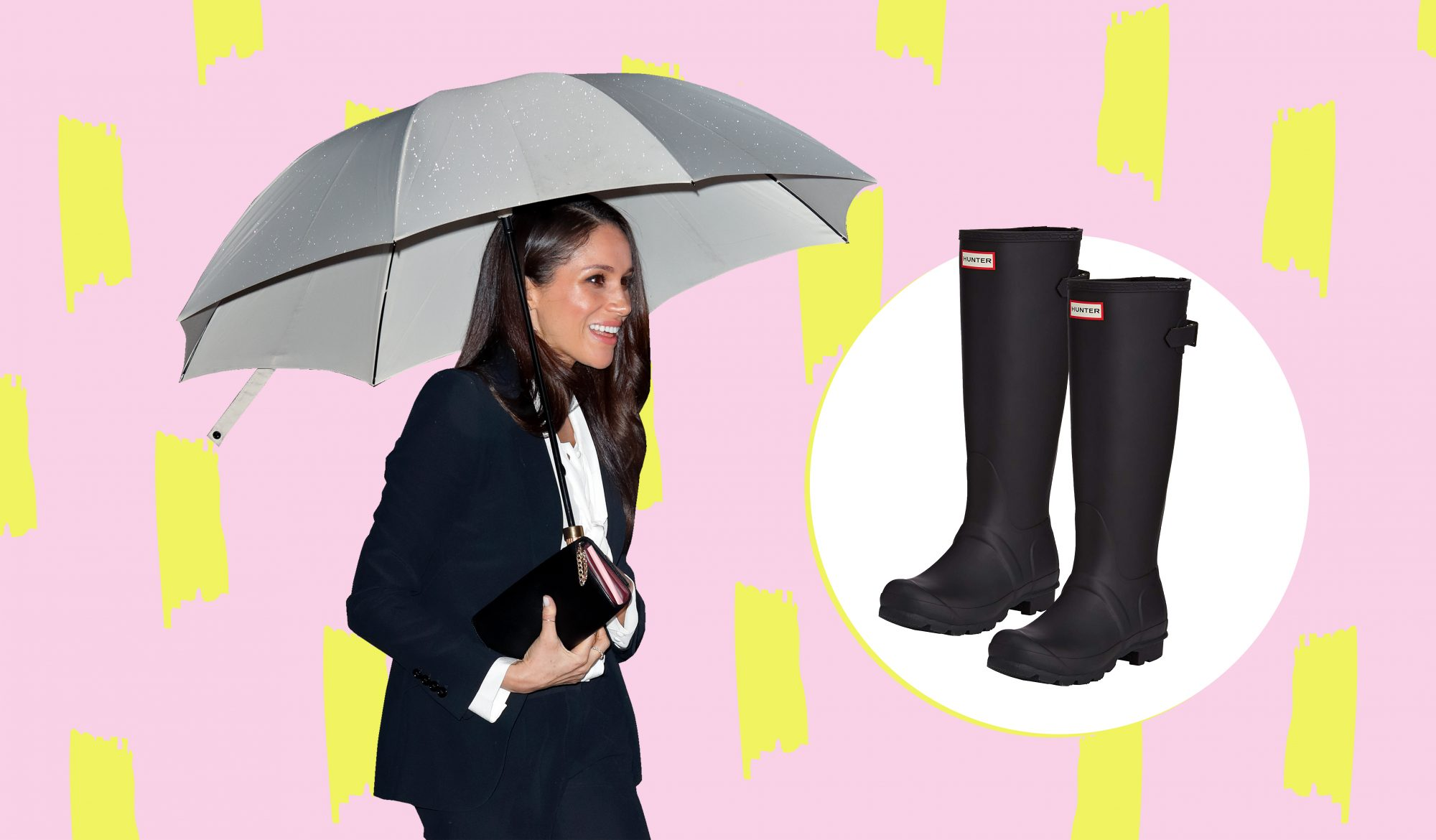 96dfcb2de3f6f8 Meghan Markle's Favorite Rain Boots Are the Only Waterproof Shoes You'll  Ever Need