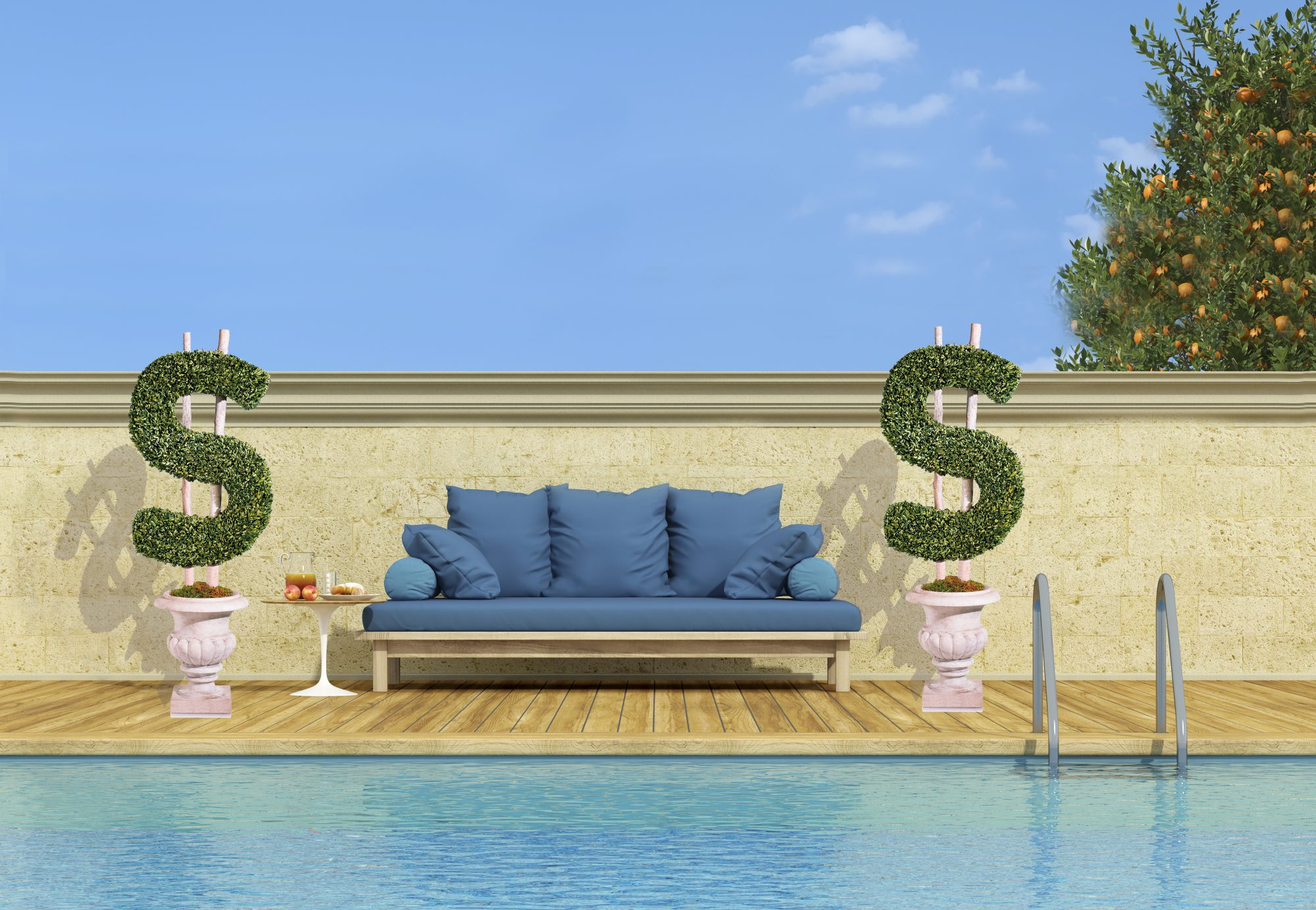 How Much Value a Pool Could Add to Your House, According to a New Study