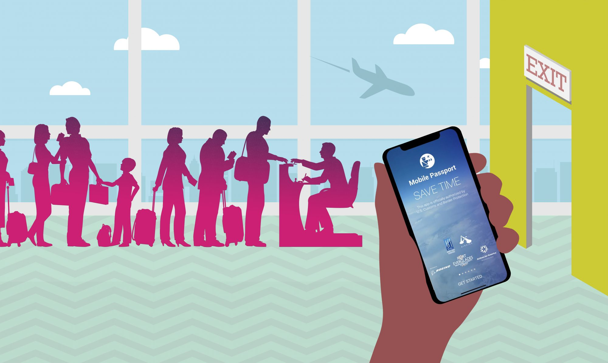Download This App to Bypass Customs During Your Next International Trip