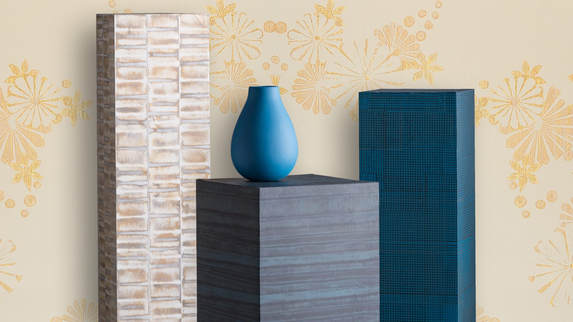 Benjamin Moore's New Hand-Painted Wallpaper Is on Point for Spring