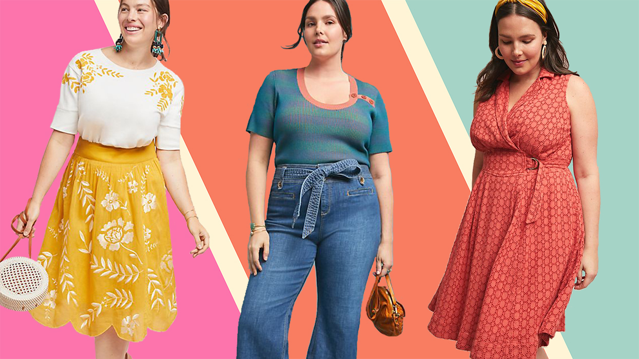 Anthropologie Just Extended Its Clothing Sizes Up to 26 and We've Never Loved the Brand More