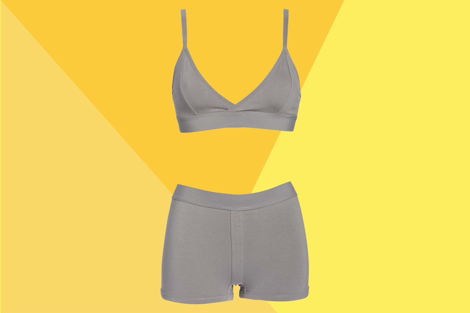 The Comfy Bralette With a 1,000-Person Waitlist Now Comes With Matching Boxers—And I'm Wearing Them All Summer