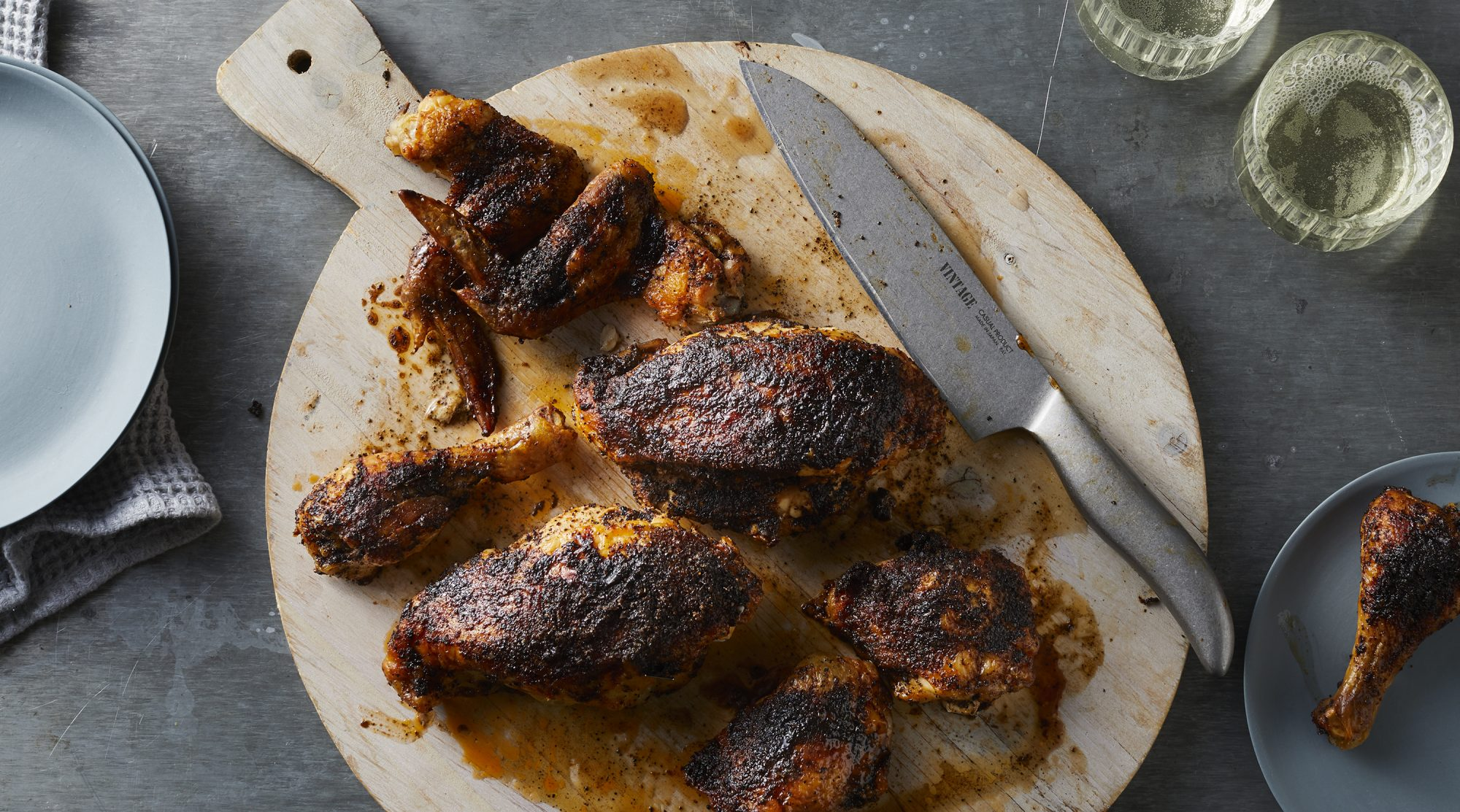 Ancho Coffee-Rubbed Chicken