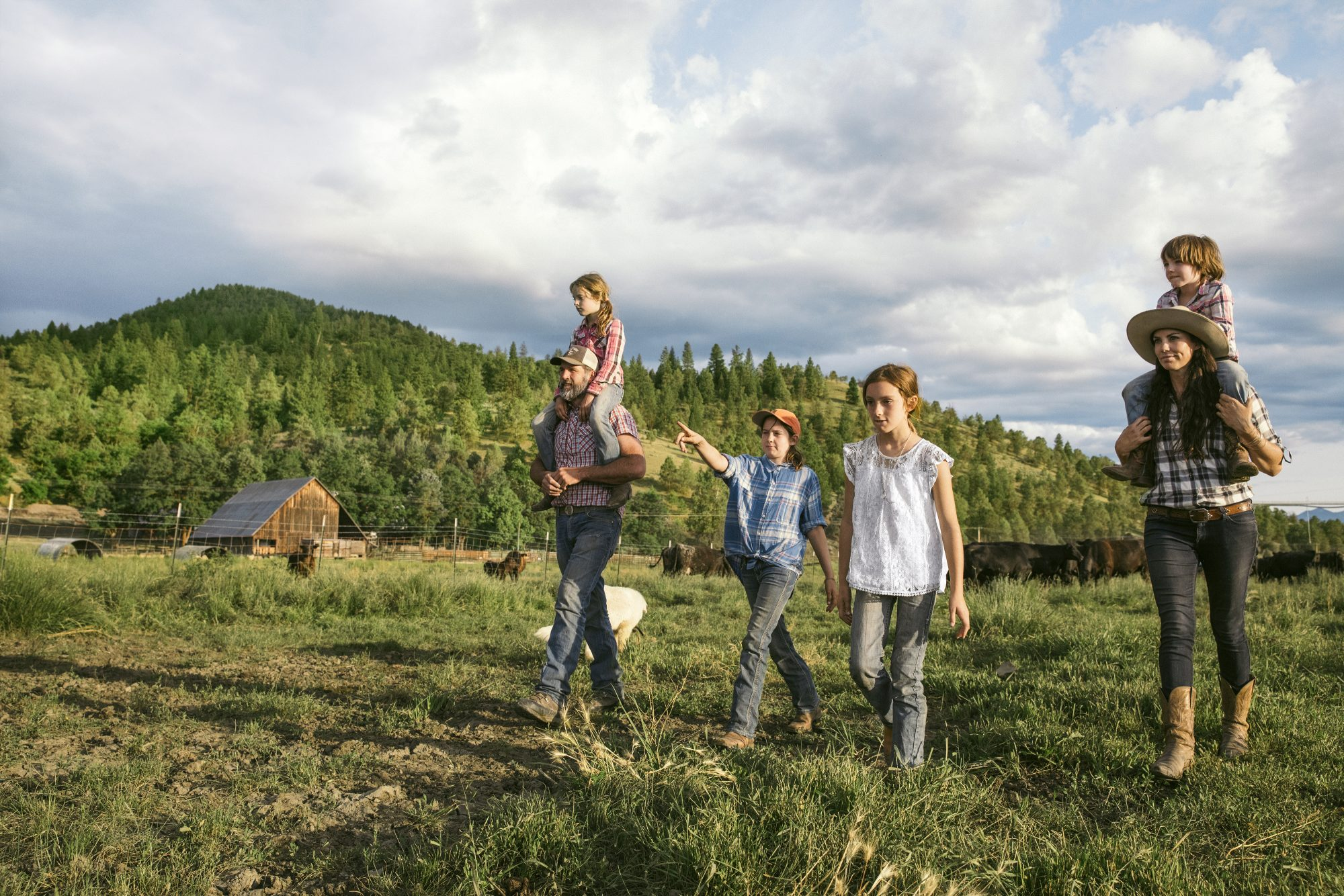 This Family of 6 Left Silicon Valley to Become Cattle Ranchers. Here's How They Made the Switch.