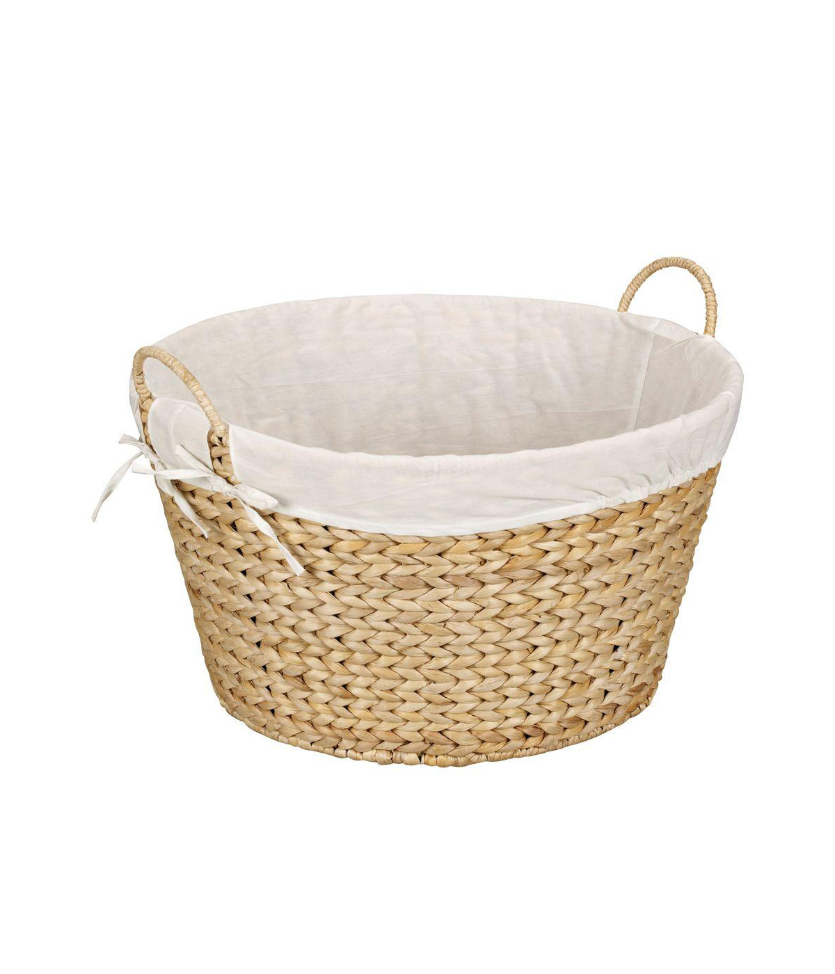 Best Woven Laundry Basket with fabric lining