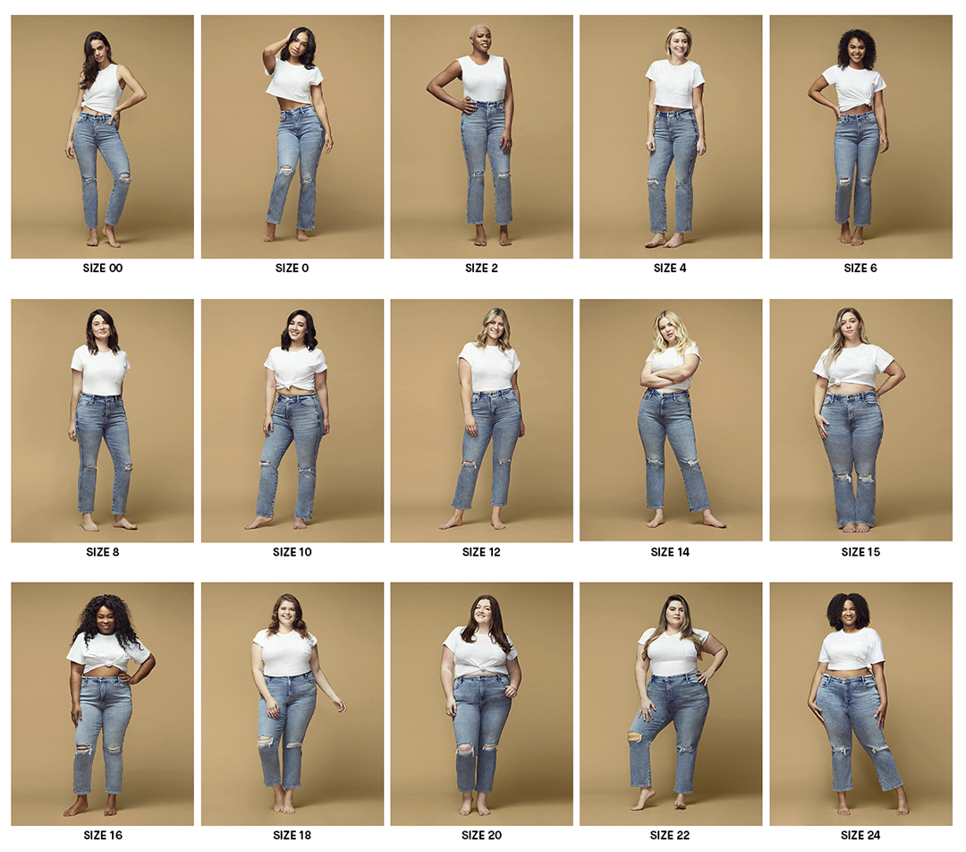 Good American Has The Best Fitting Size Inclusive Jeans Real Simple