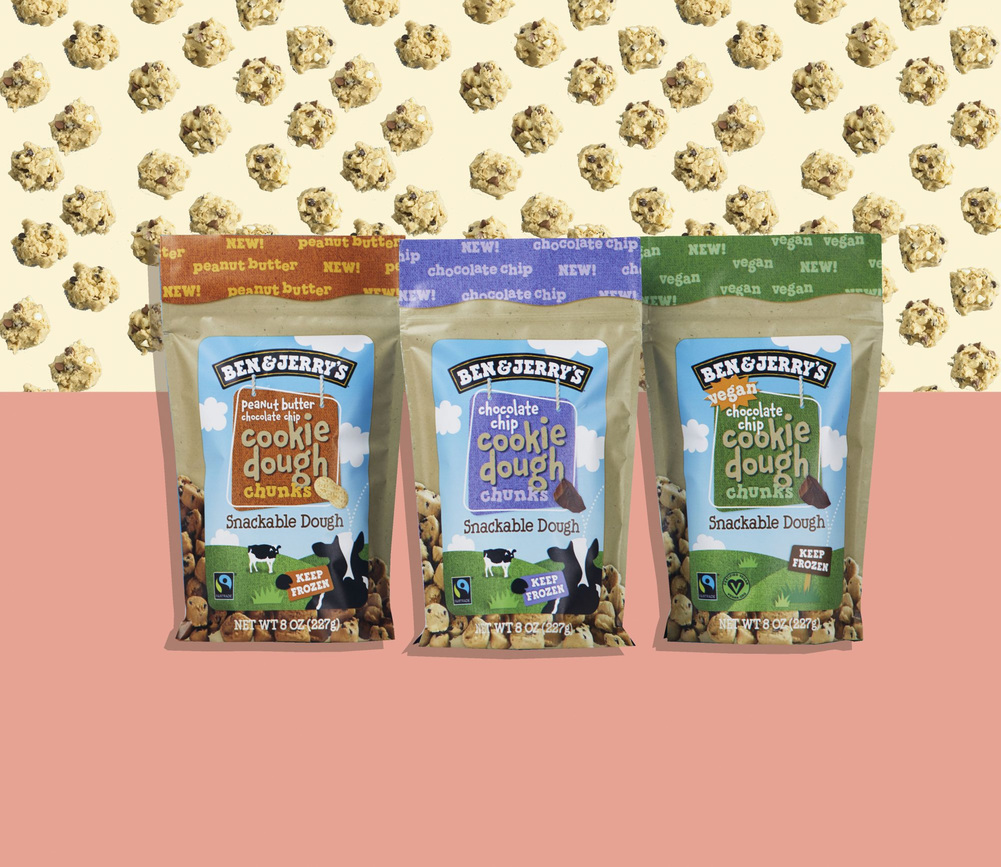 Ben & Jerry's New Snackable Cookie Dough Is About to Be Your Sweet-Tooth Obsession