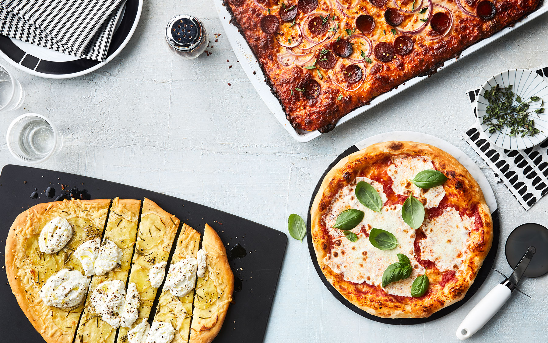 5 Incredibly Delicious Pizzas from One Easy Dough Recipe