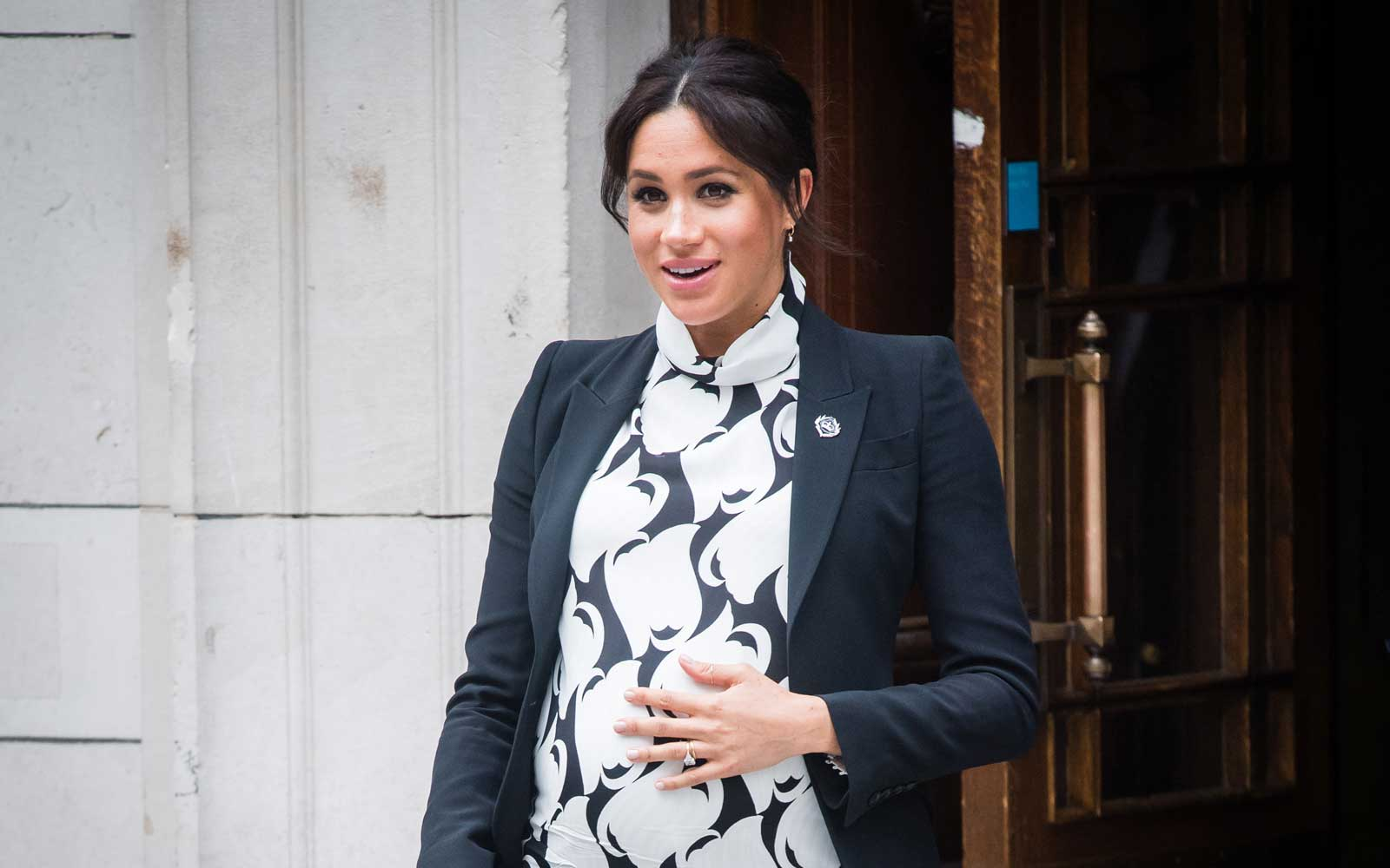 An Ambulance Was Spotted Outside Meghan Markle and Prince Harry's Home and Royal Baby Watchers Are Going Wild