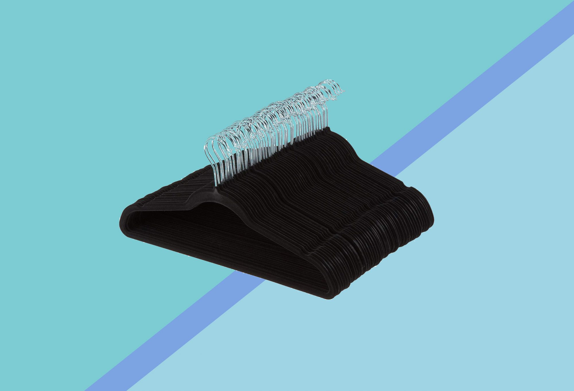 ATTN Spring Cleaners: Amazon Is Officially the Cheapest Place to Buy Velvet Hangers
