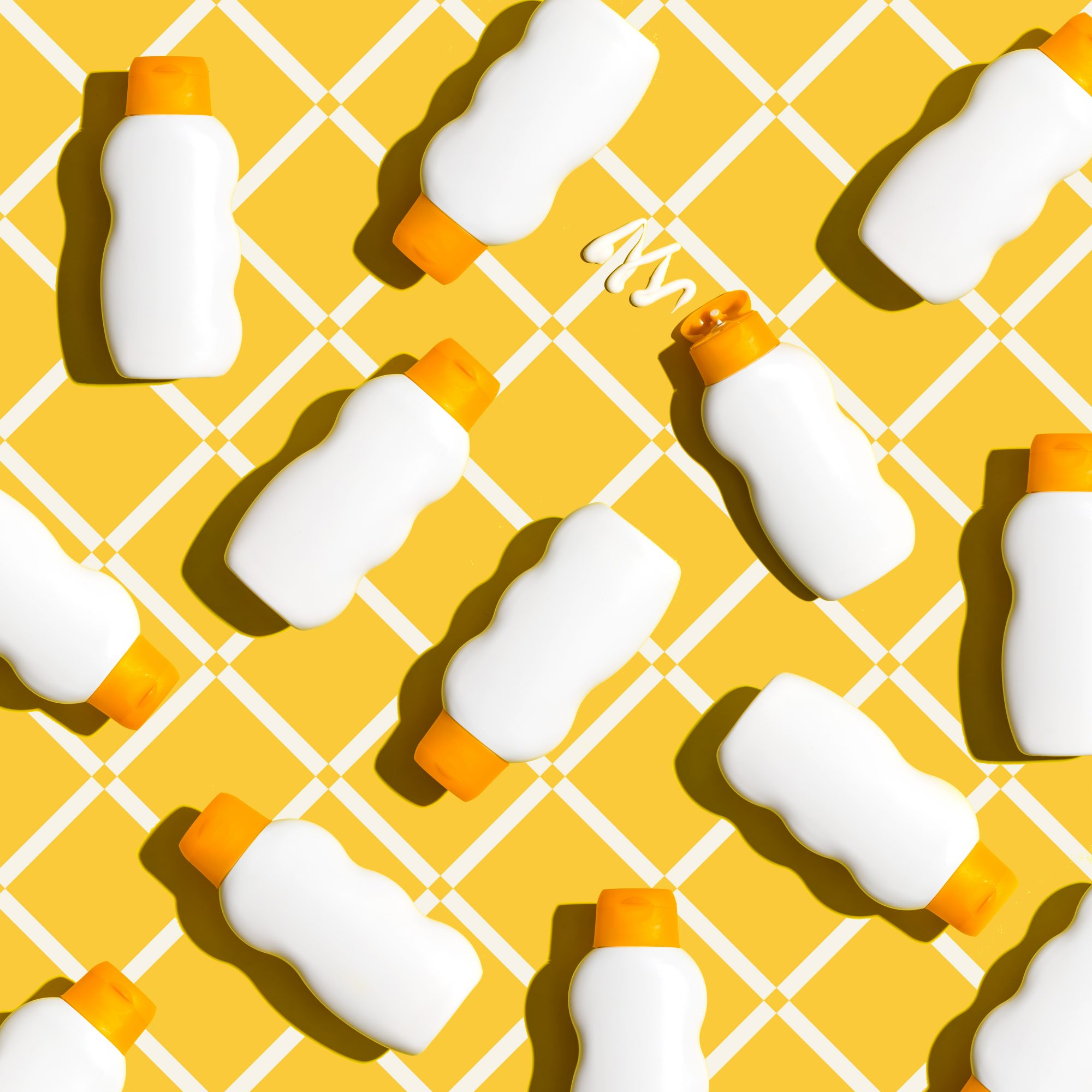 Things You Can Spring-Clean From Your Bathroom, sunscreen bottles
