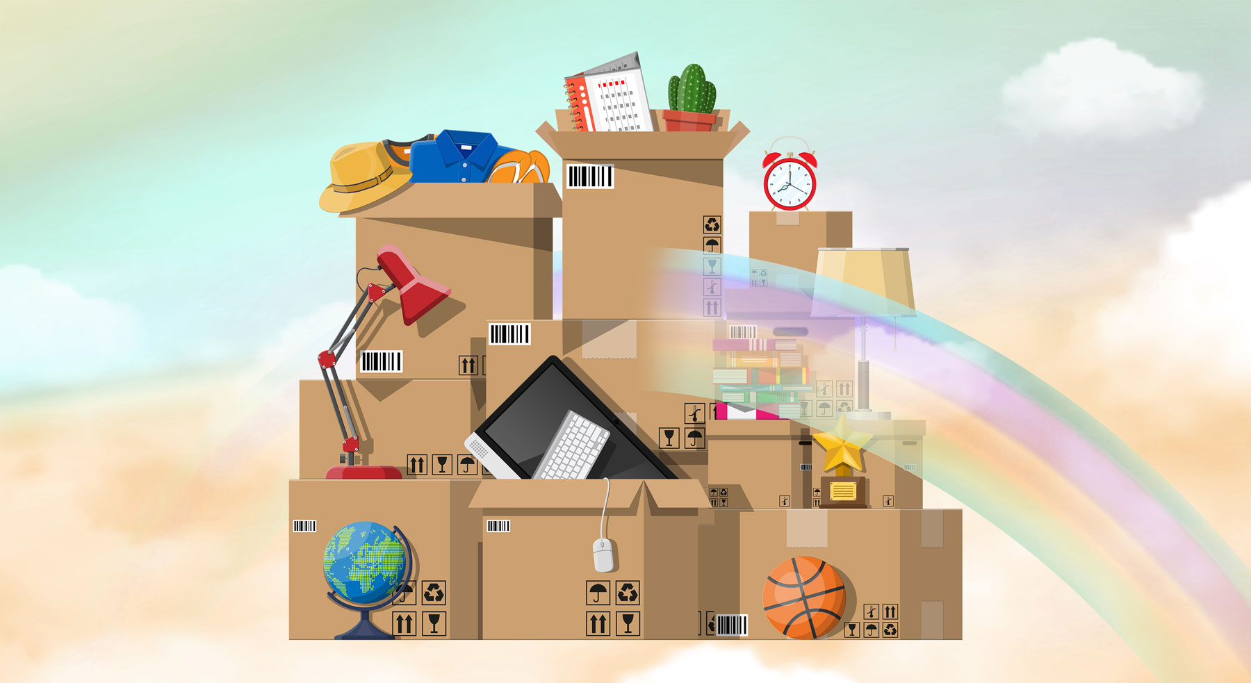 Moving Is Incredibly Stressful, But This Simple Secret Can Make It a Happy Experience
